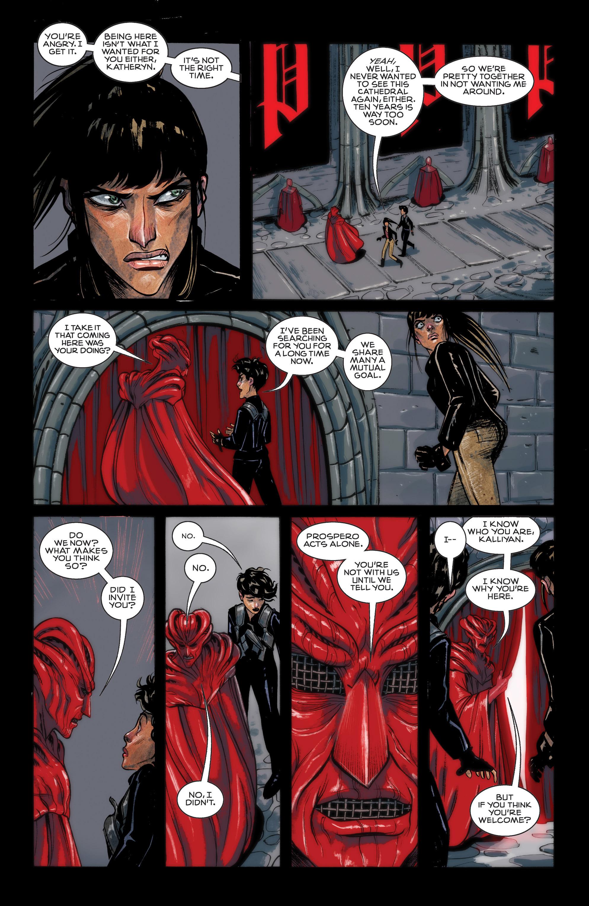 Read online Shutter comic -  Issue #12 - 5