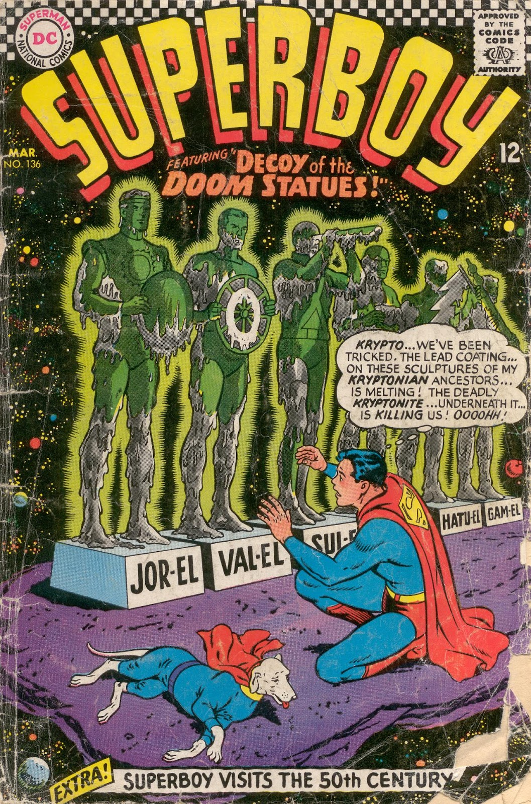 Superboy (1949) issue 136 - Page 1