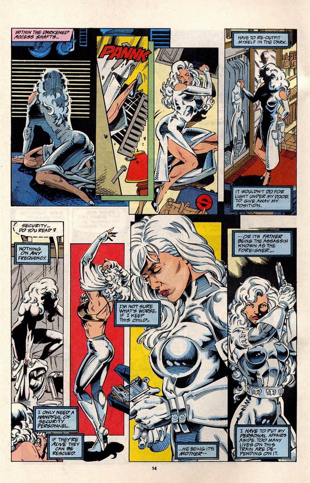 Read online Silver Sable and the Wild Pack comic -  Issue #32 - 10