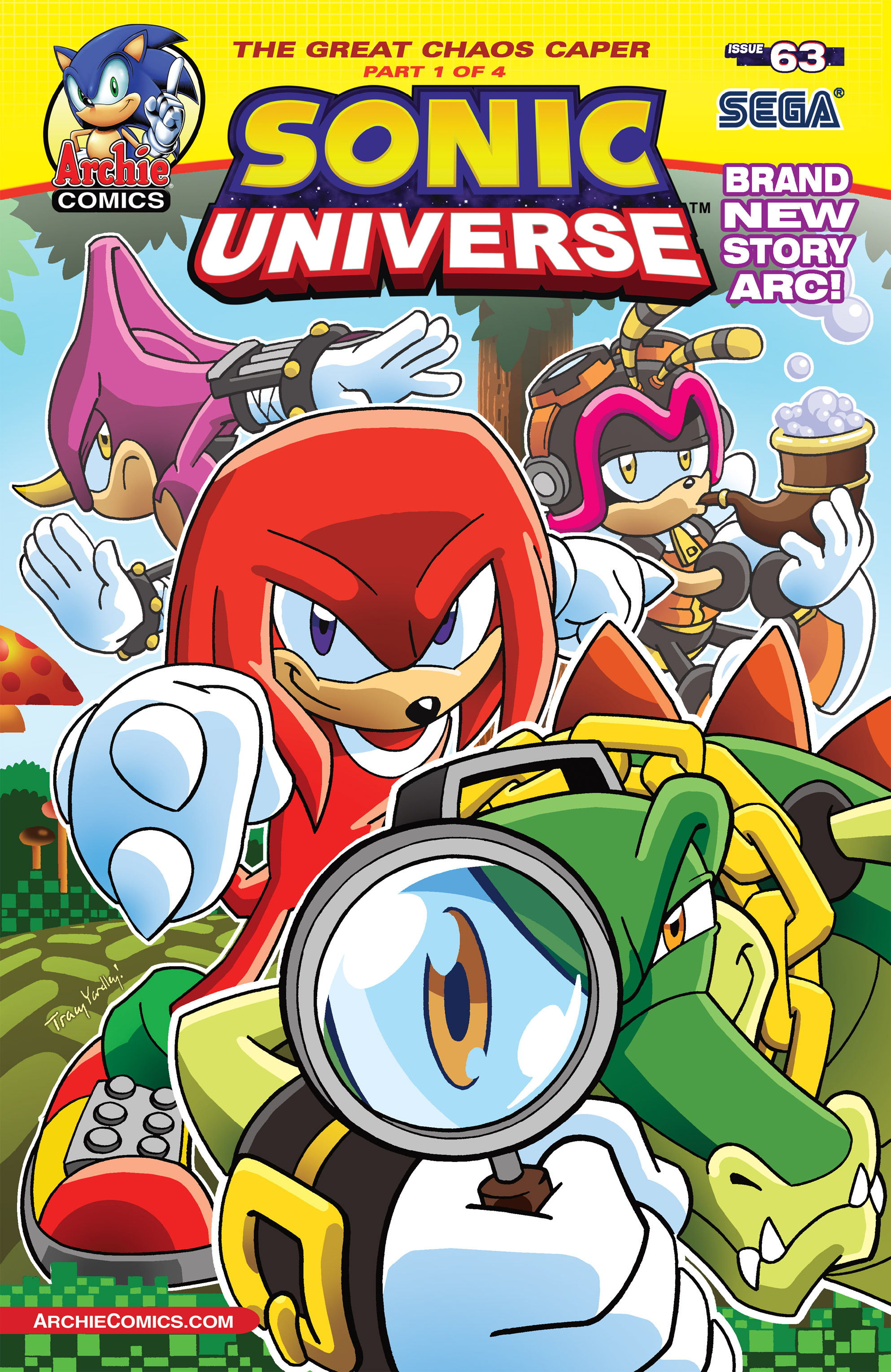 Read online Sonic Universe comic -  Issue #63 - 1