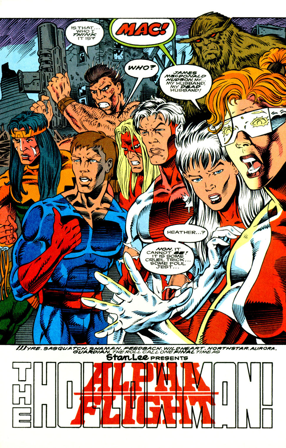 Read online Alpha Flight (1983) comic -  Issue #130 - 5