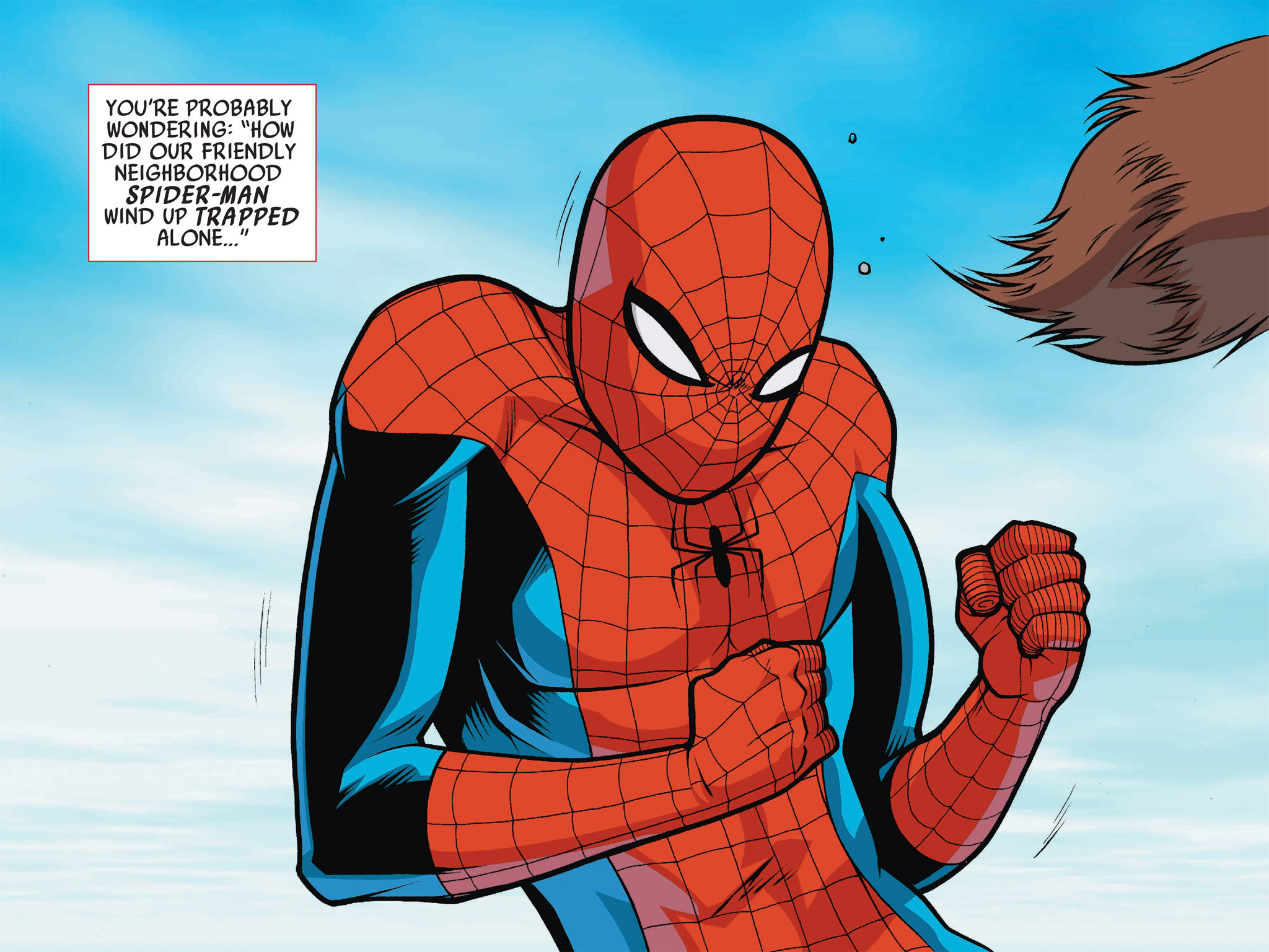 Read online Ultimate Spider-Man (Infinite Comics) (2016) comic -  Issue #1 - 3