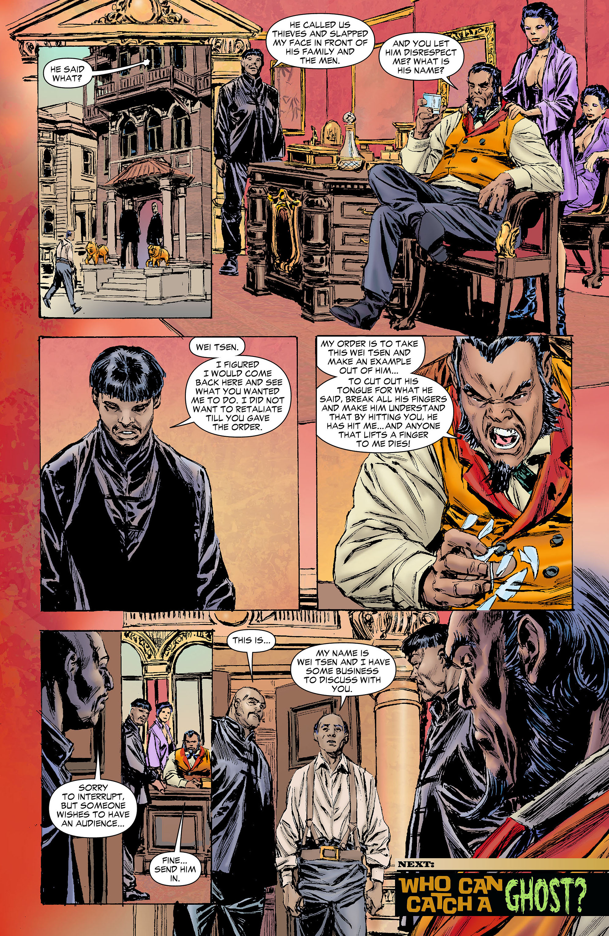 Read online All-Star Western (2011) comic -  Issue #4 - 28