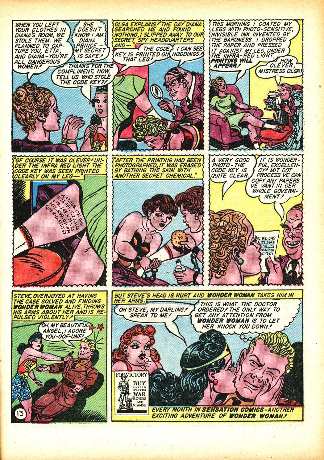 Read online Sensation (Mystery) Comics comic -  Issue #13 - 15