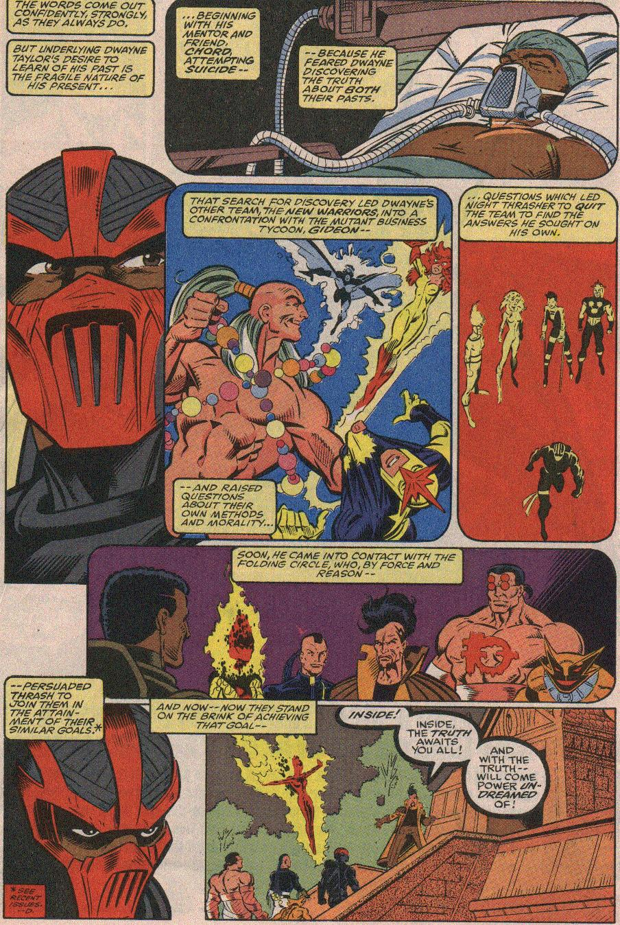 The New Warriors Issue #23 #27 - English 5