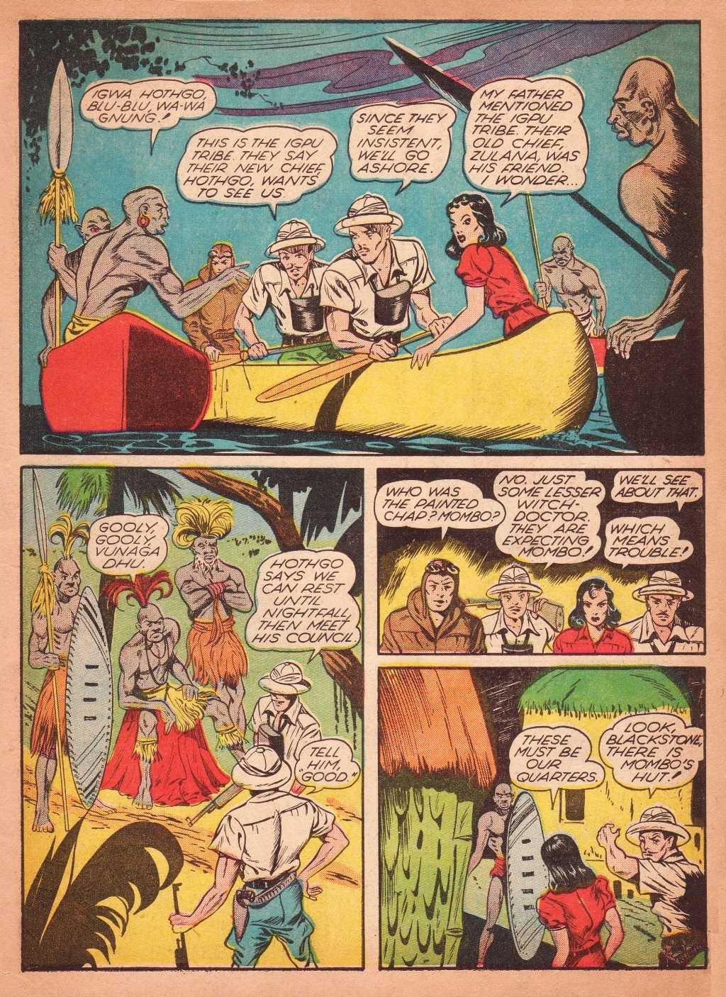 Read online Super-Magician Comics comic -  Issue #2 - 9