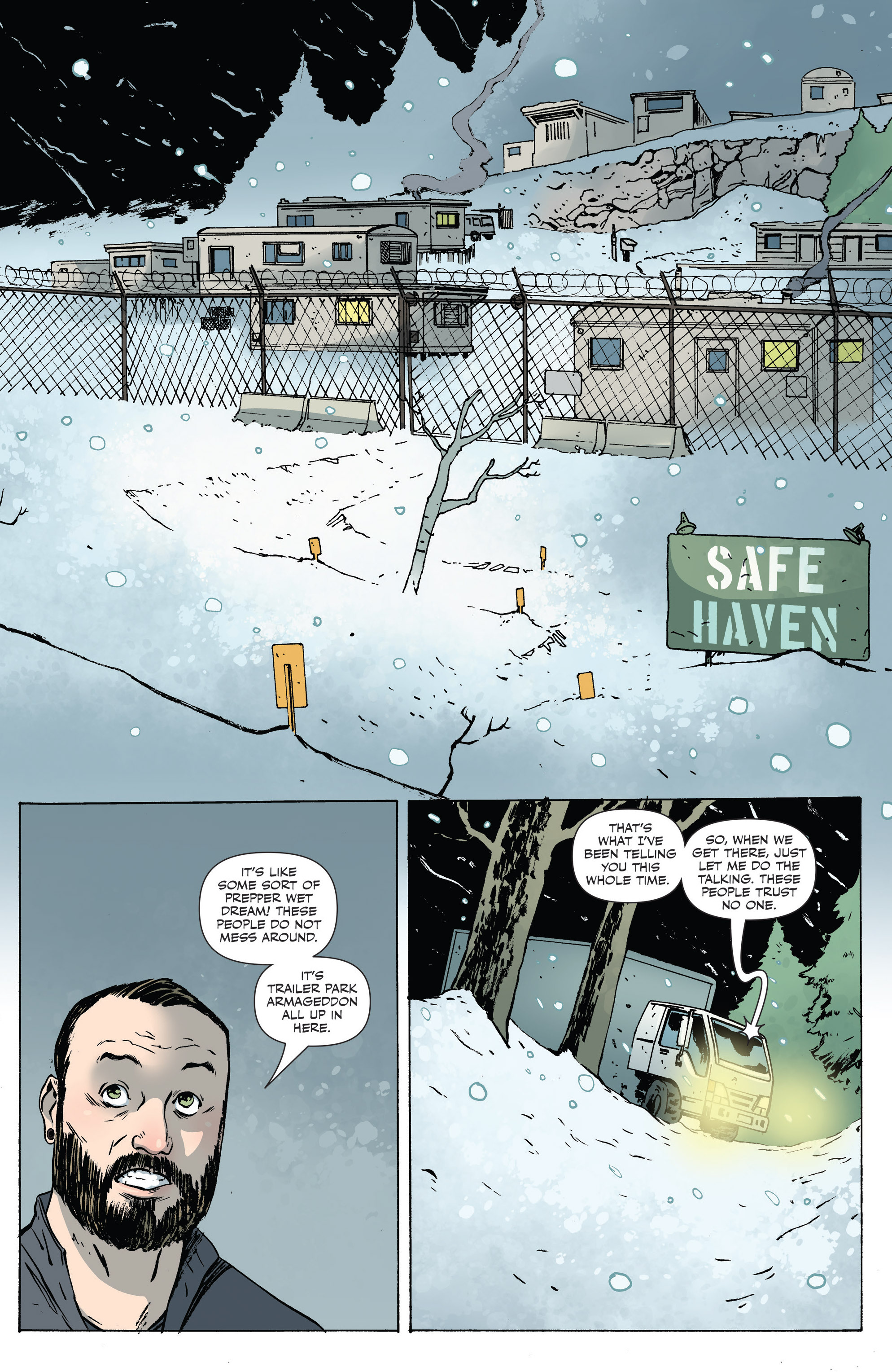 Read online Sheltered comic -  Issue #6 - 14
