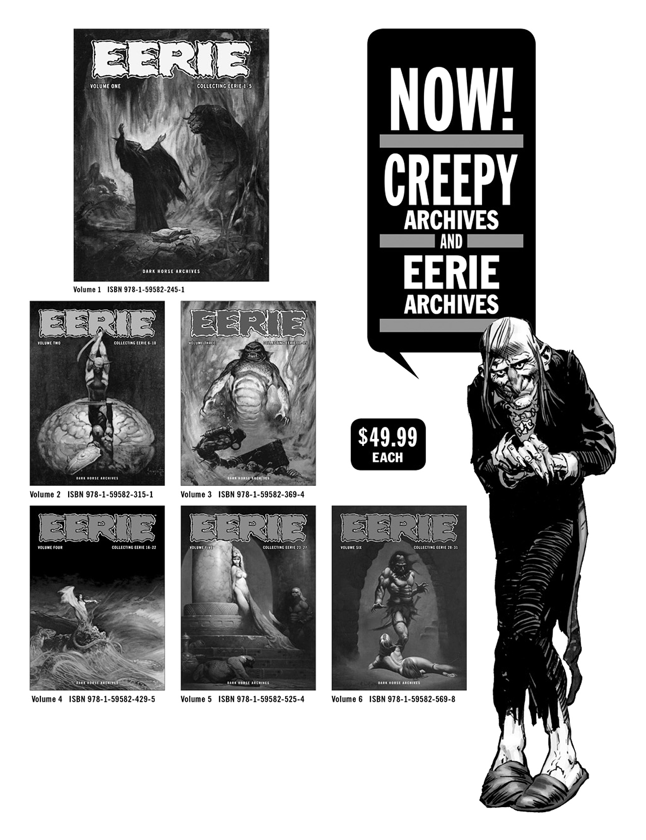 Read online Eerie Archives comic -  Issue # TPB 6 - 246