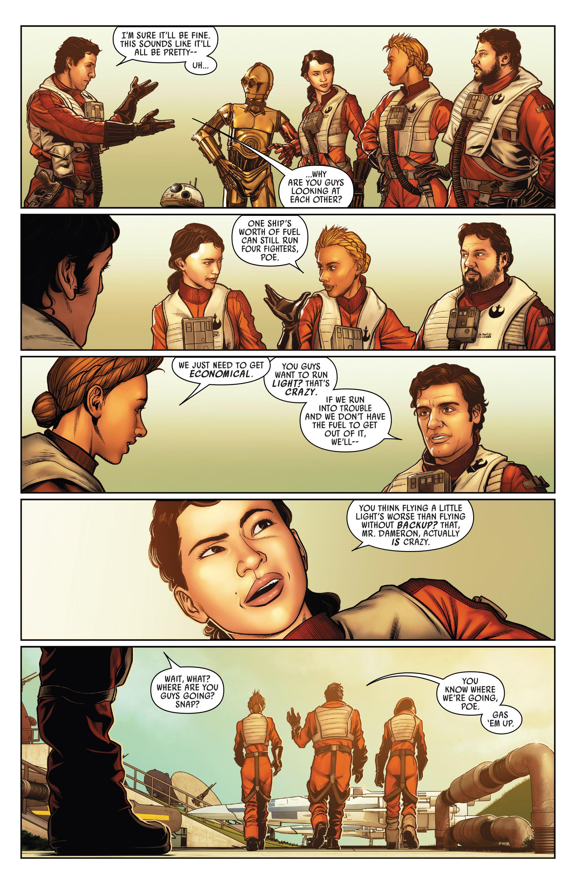 Read online Star Wars: Poe Dameron comic -  Issue #15 - 9