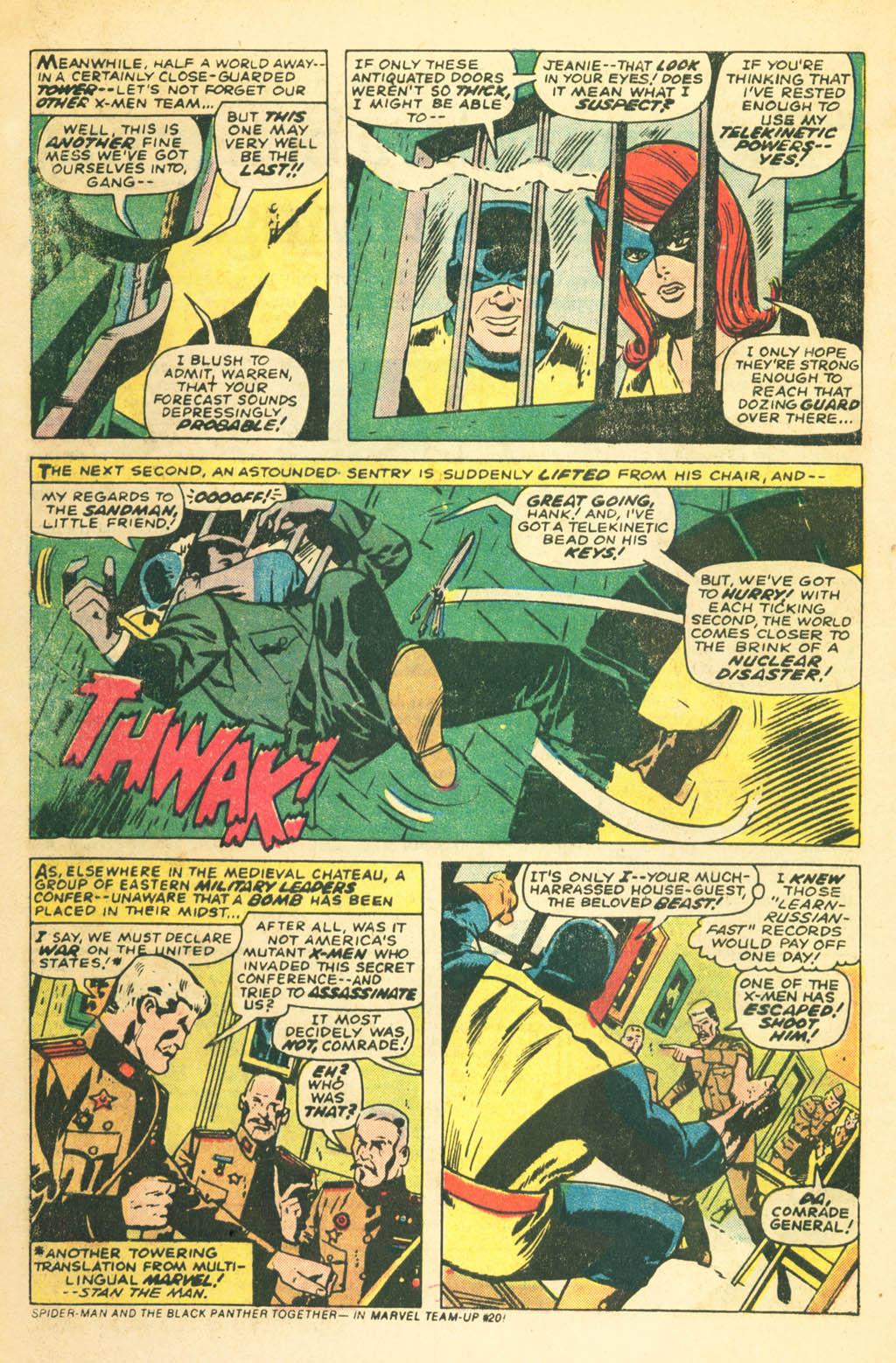 Read online Uncanny X-Men (1963) comic -  Issue #87 - 8
