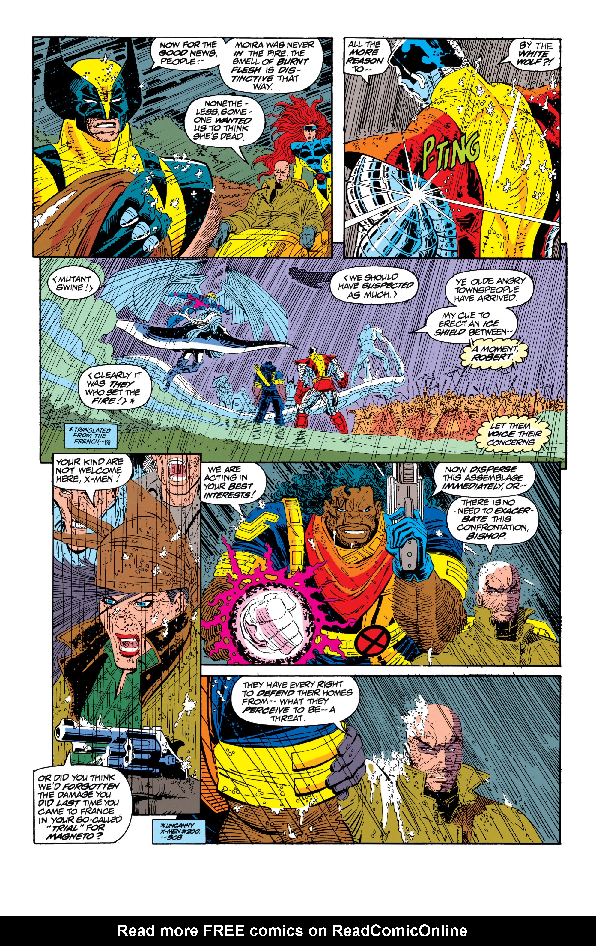 Read online Uncanny X-Men (1963) comic -  Issue #300 - 10