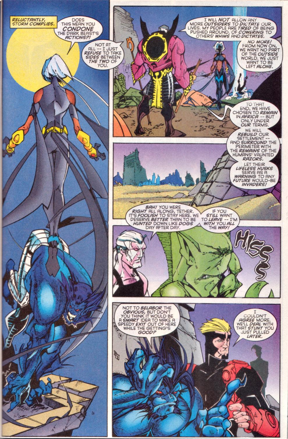 Read online Uncanny X-Men (1963) comic -  Issue # _Annual 1997 - 36