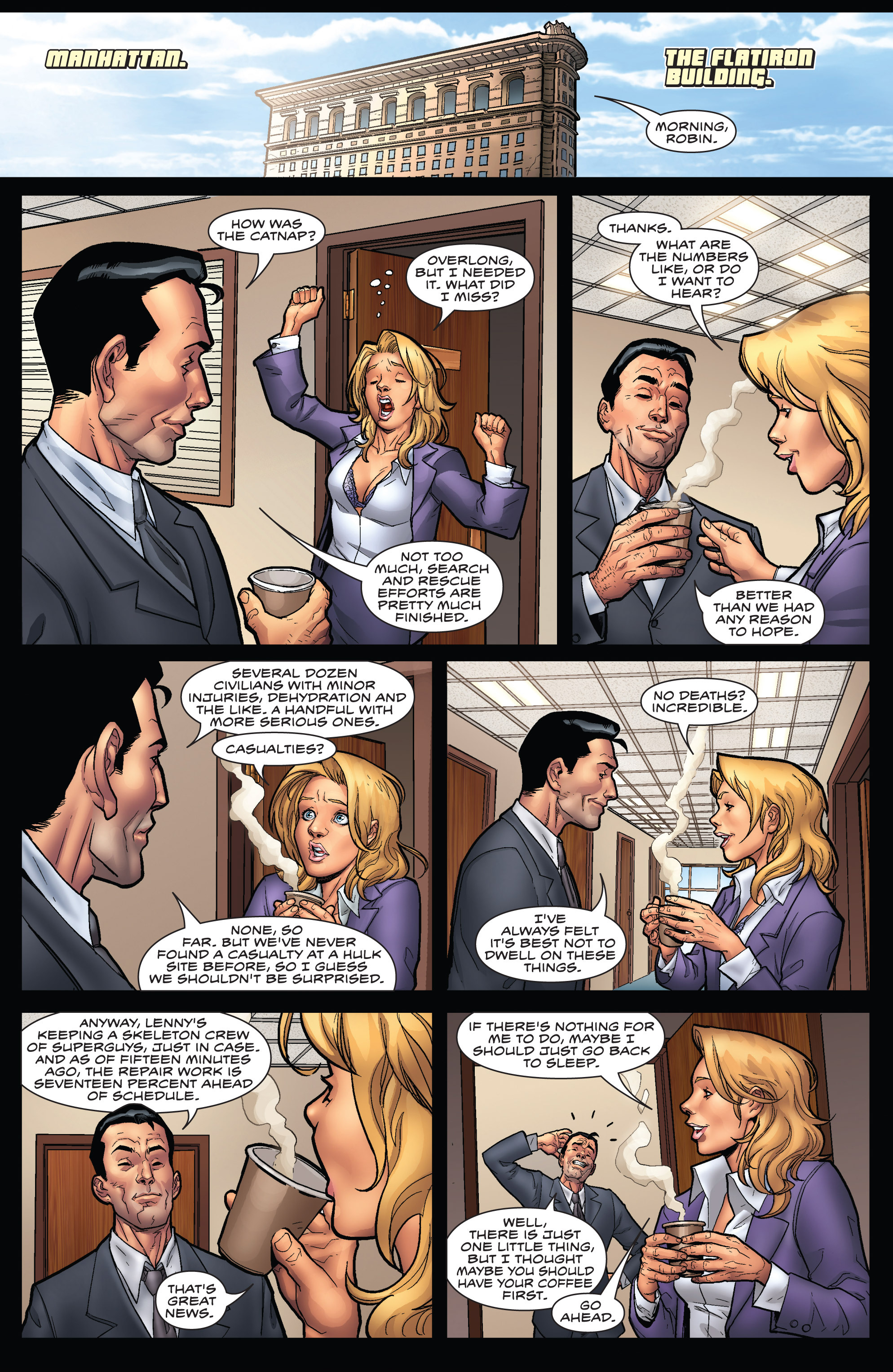 Read online WWH Aftersmash: Damage Control comic -  Issue #3 - 3