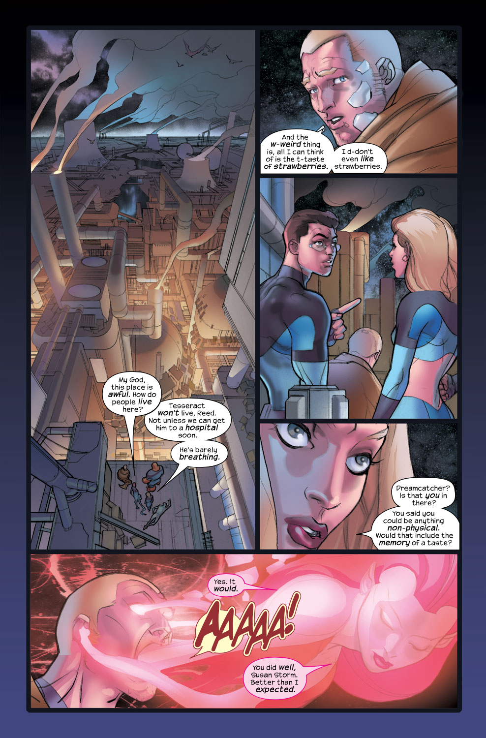 Read online Ultimate Fantastic Four (2004) comic -  Issue #36 - 6