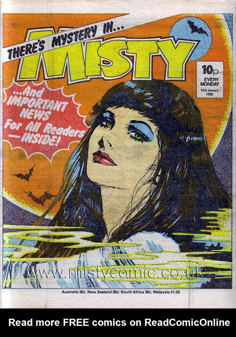 Misty 101 Page 1