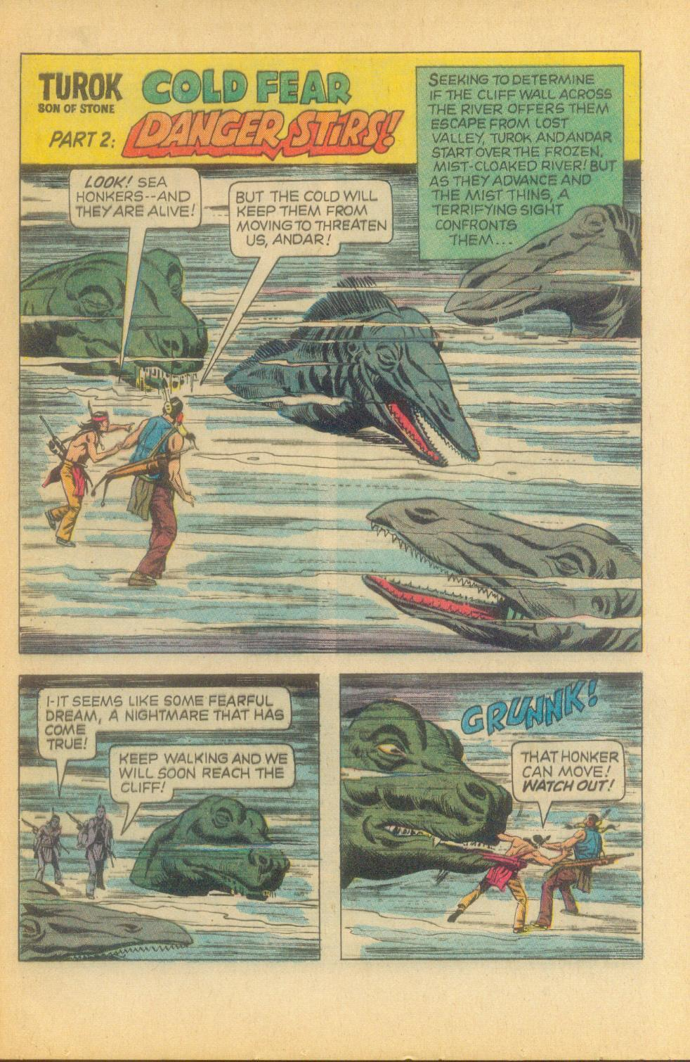Read online Turok, Son of Stone comic -  Issue #81 - 21