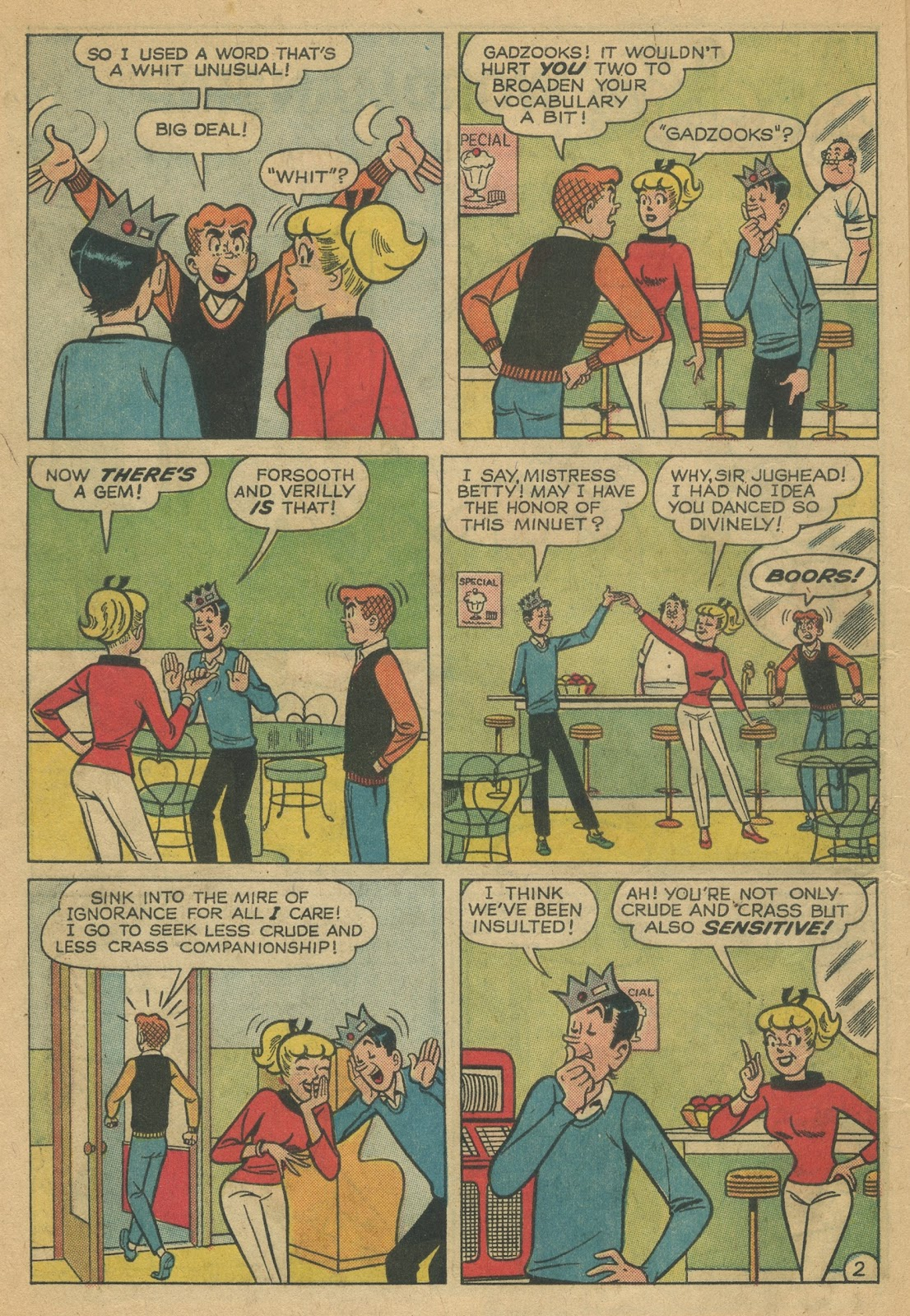 Read online Archie (1960) comic -  Issue #152 - 14