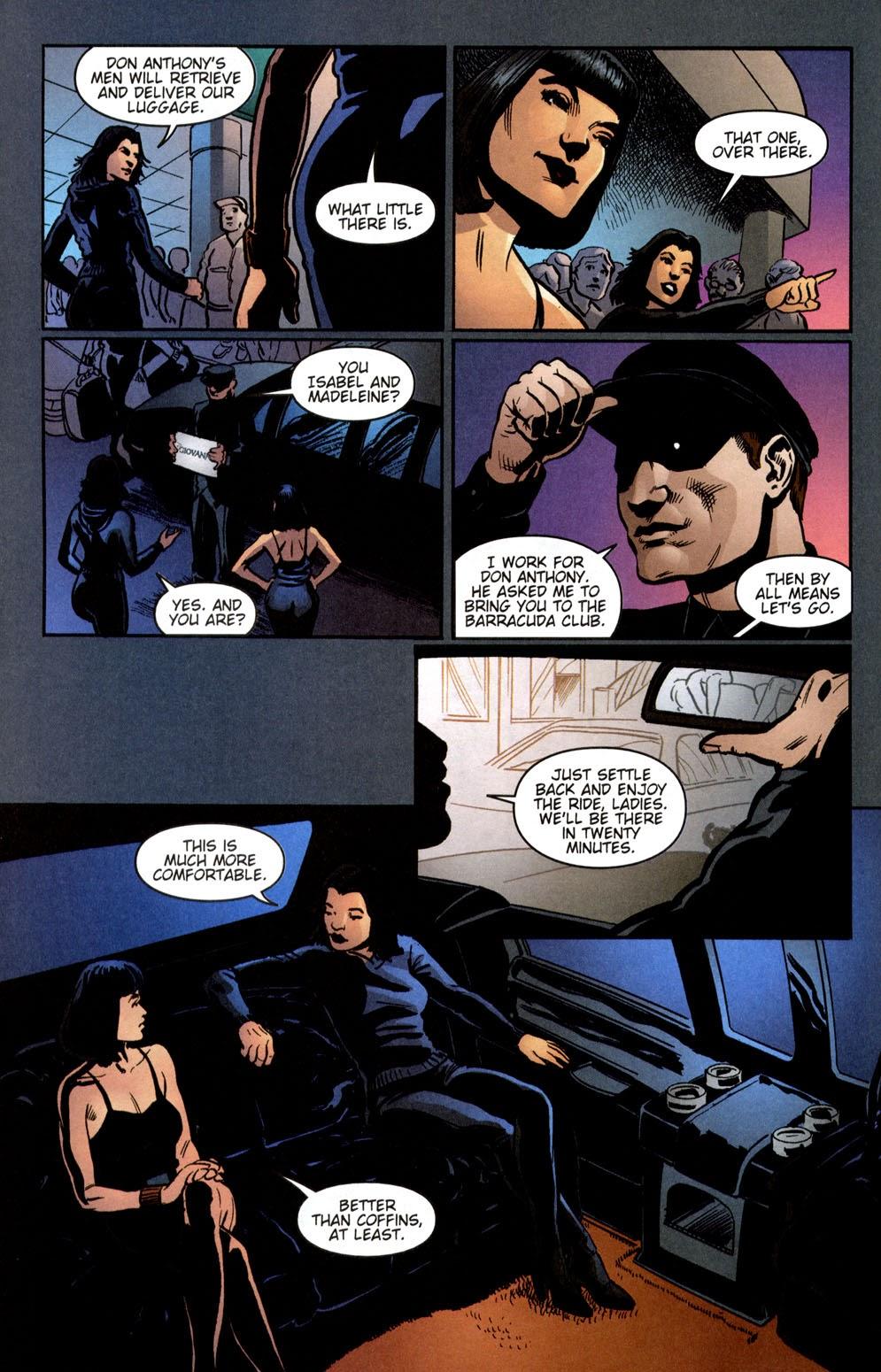 Read online Vampire the Masquerade comic -  Issue # Giovanni - 18