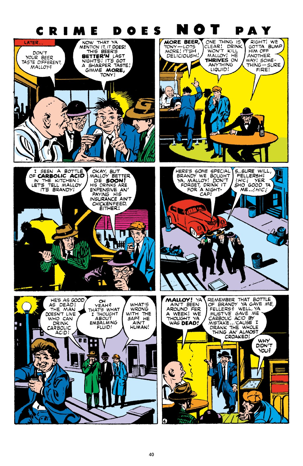 Read online Crime Does Not Pay Archives comic -  Issue # TPB 9 (Part 1) - 42