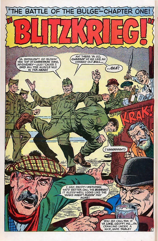 Read online Sgt. Fury comic -  Issue # _Special 4 - 8