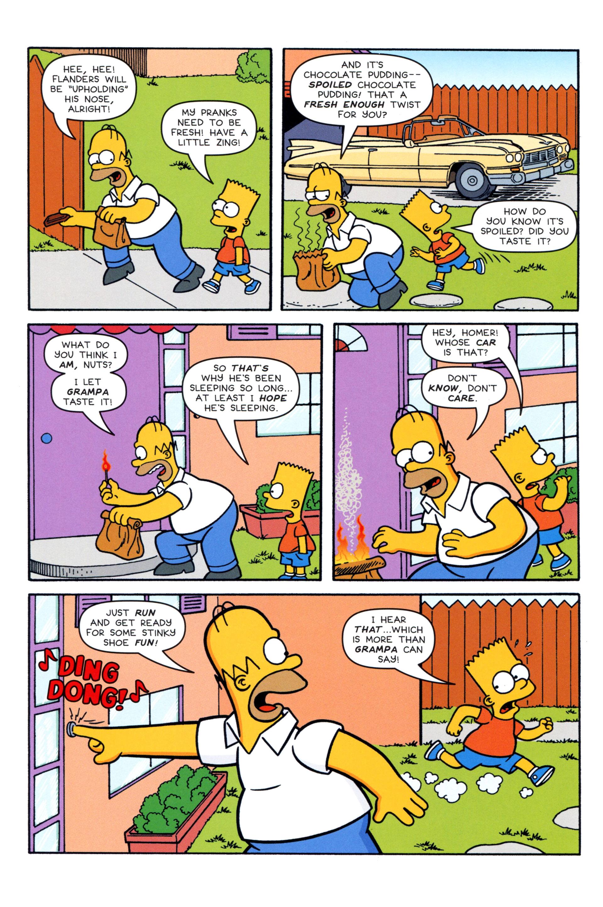 Read online Simpsons Comics comic -  Issue #204 - 4