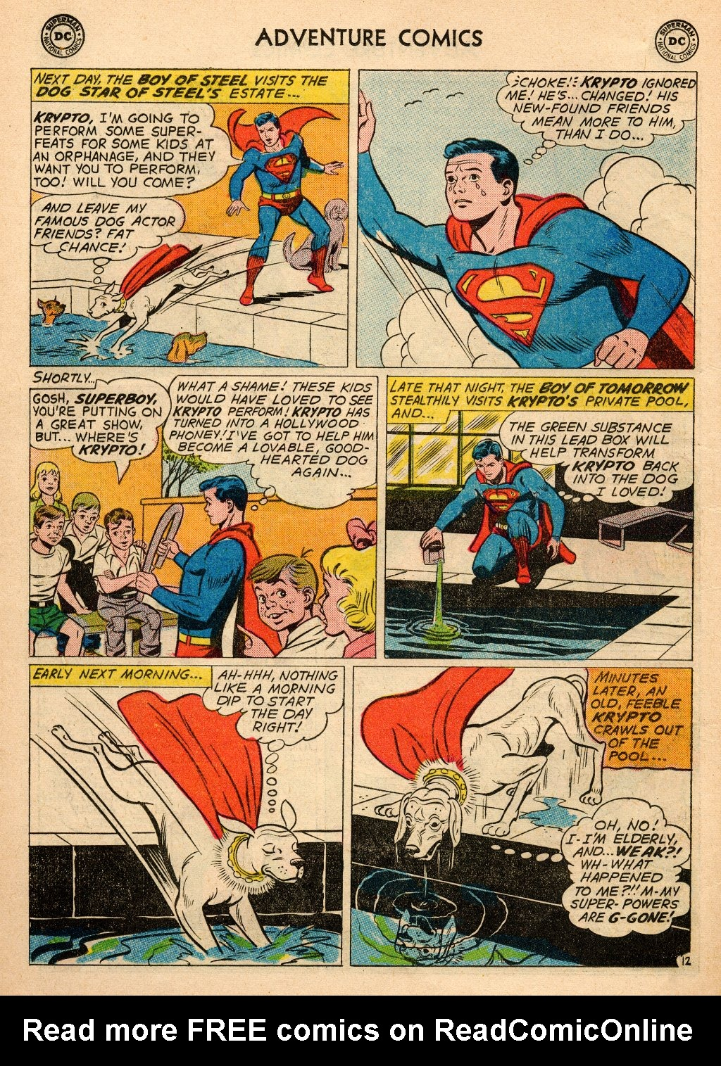 Read online Adventure Comics (1938) comic -  Issue #272 - 14
