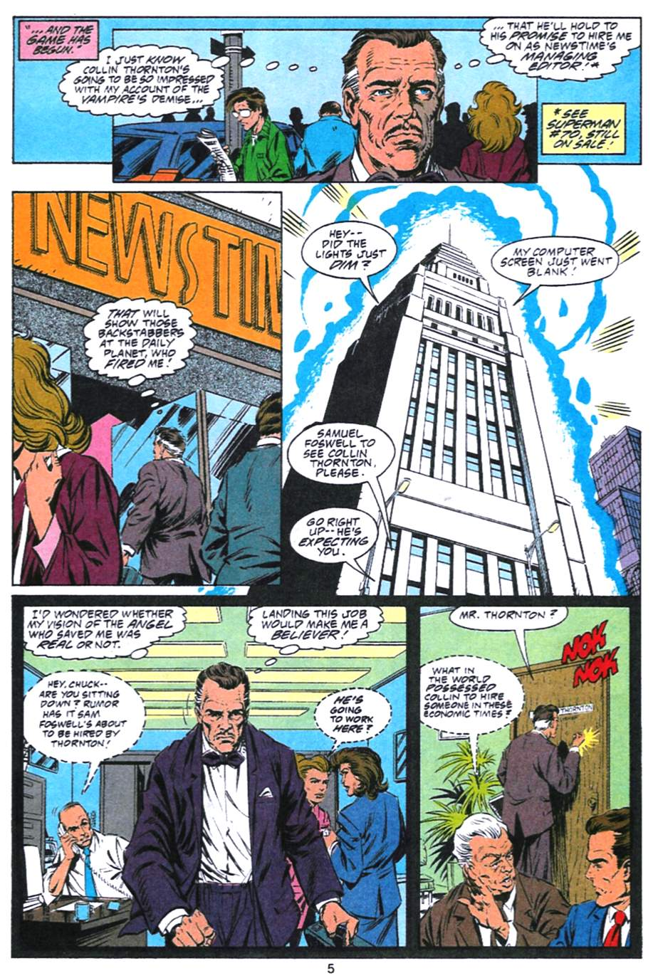 Read online Adventures of Superman (1987) comic -  Issue #493 - 6