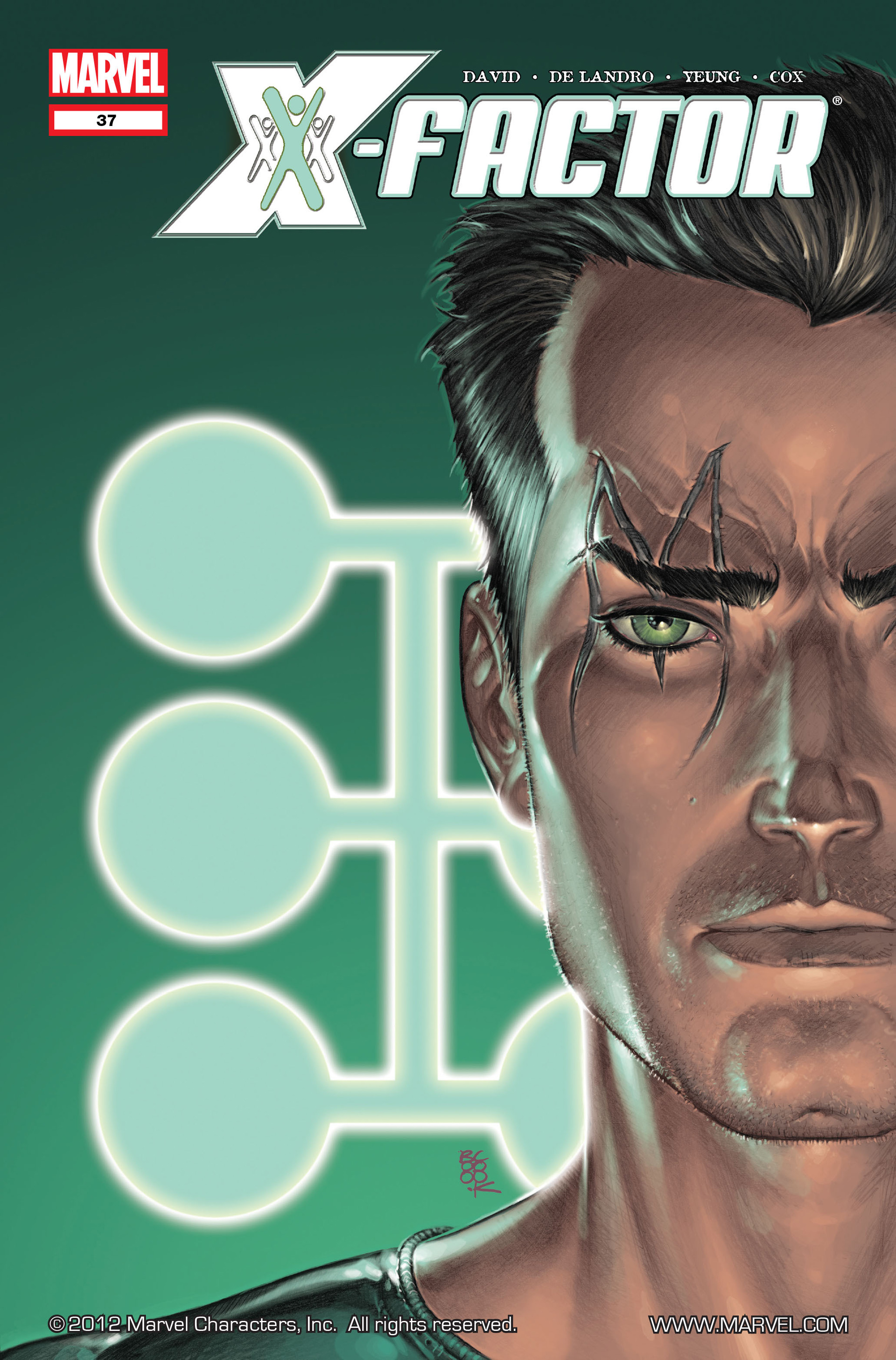 Read online X-Factor (2006) comic -  Issue #37 - 1
