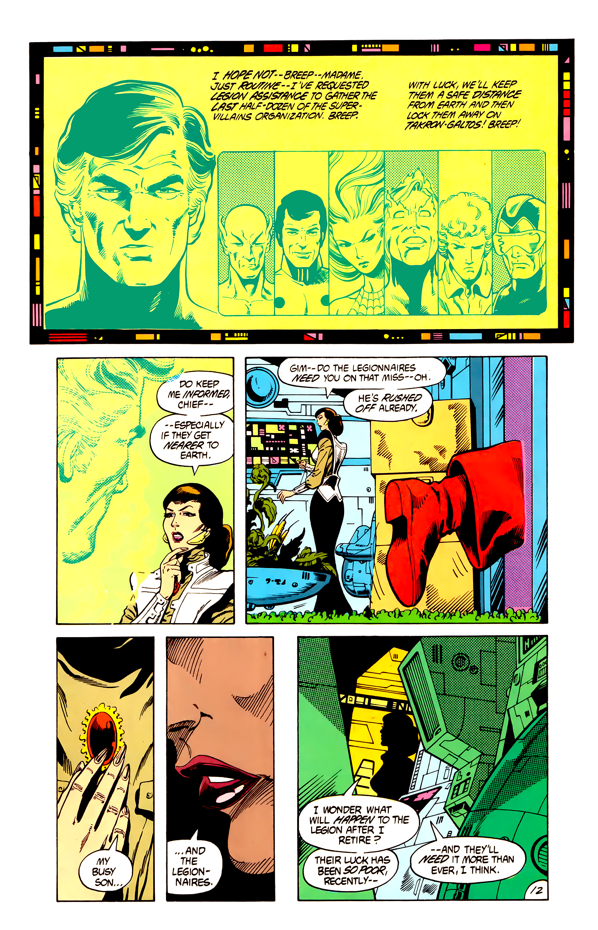 Legion of Super-Heroes (1984) 7 Page 13