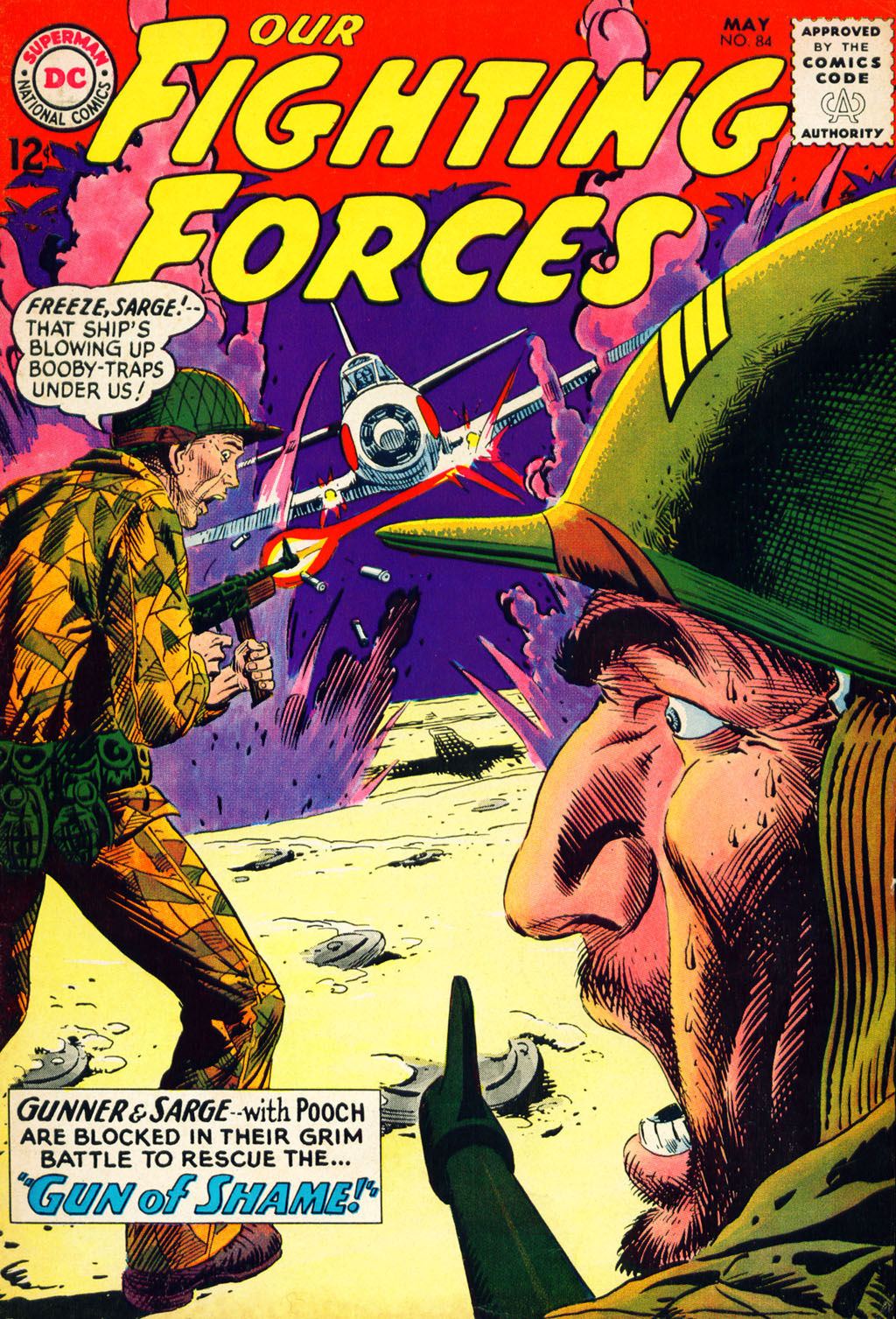 Our Fighting Forces (1954) issue 84 - Page 1