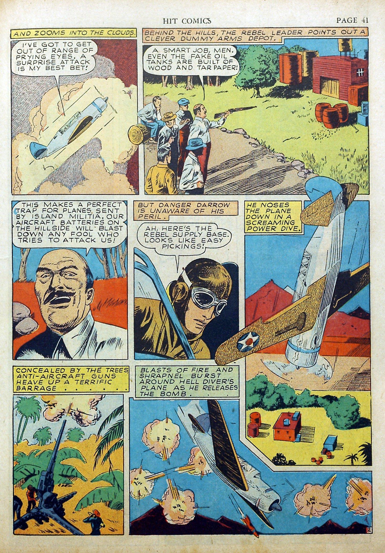 Read online Hit Comics comic -  Issue #17 - 43