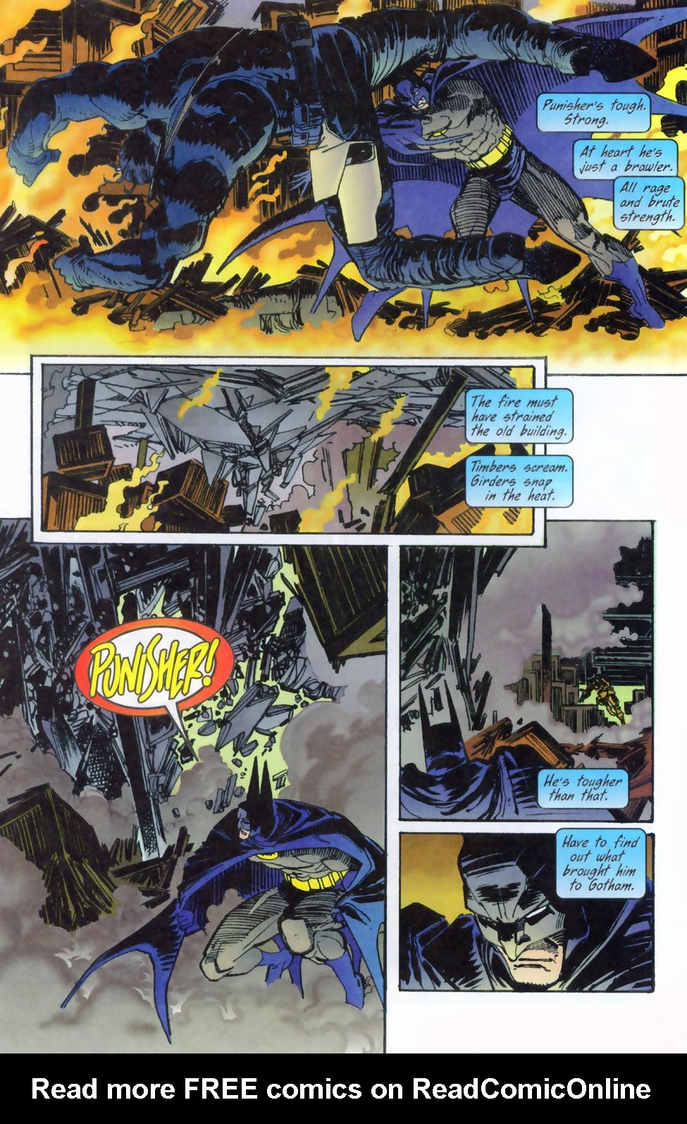 Read online Punisher/Batman: Deadly Knights comic -  Issue # Full - 13