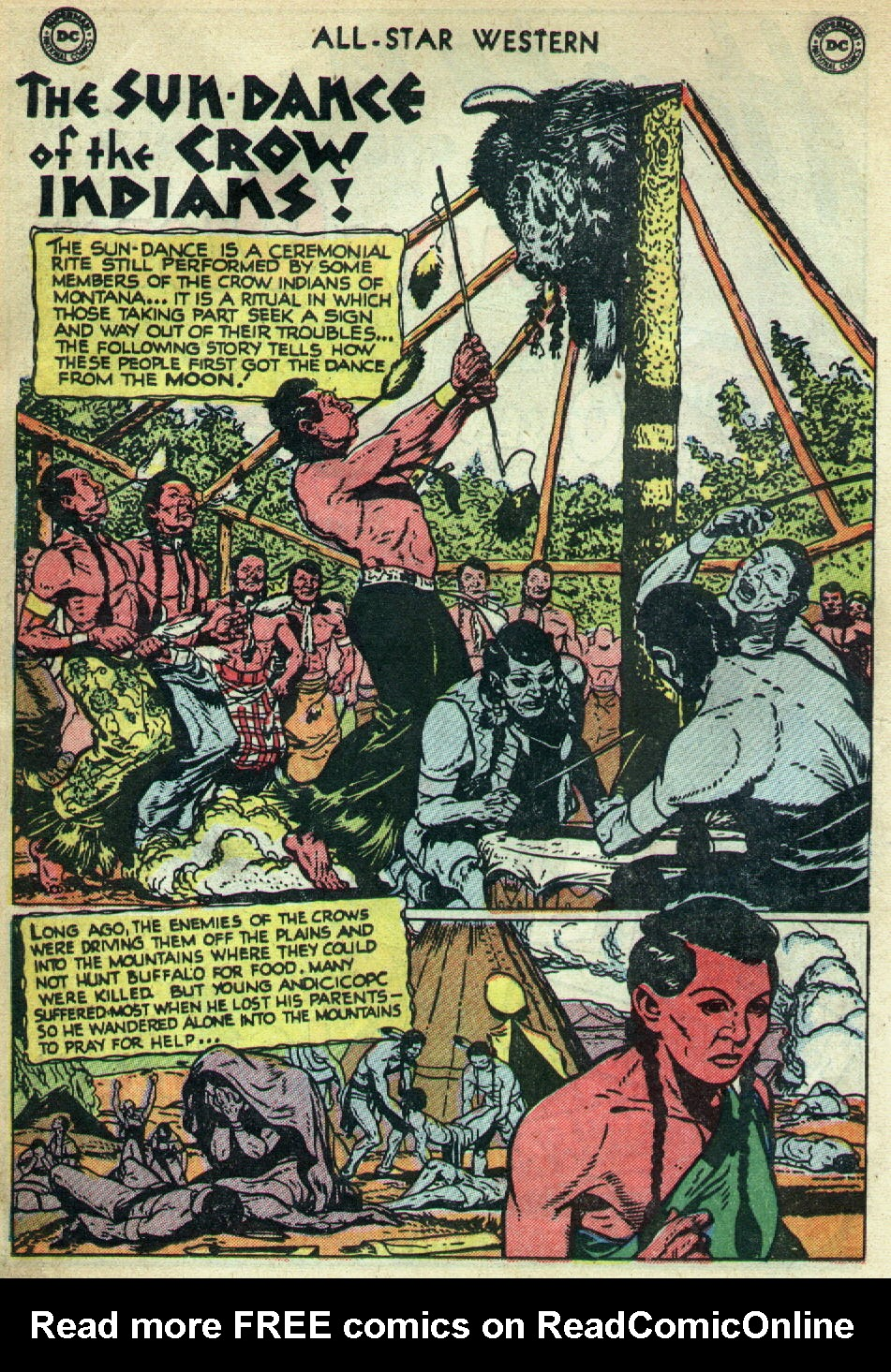 Read online All-Star Western (1951) comic -  Issue #79 - 18