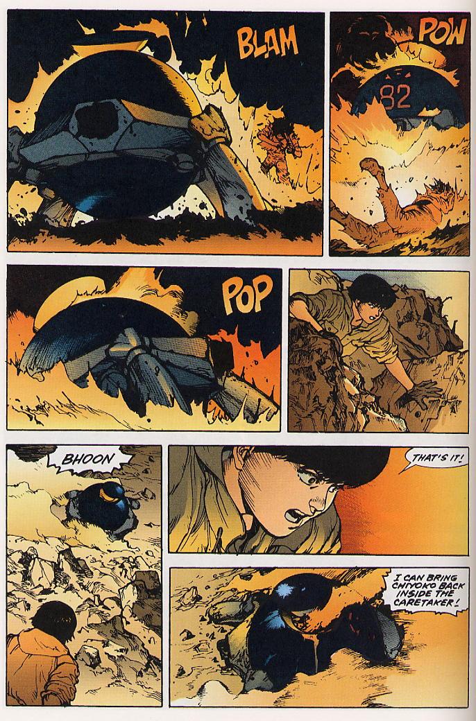 Read online Akira comic -  Issue #25 - 59