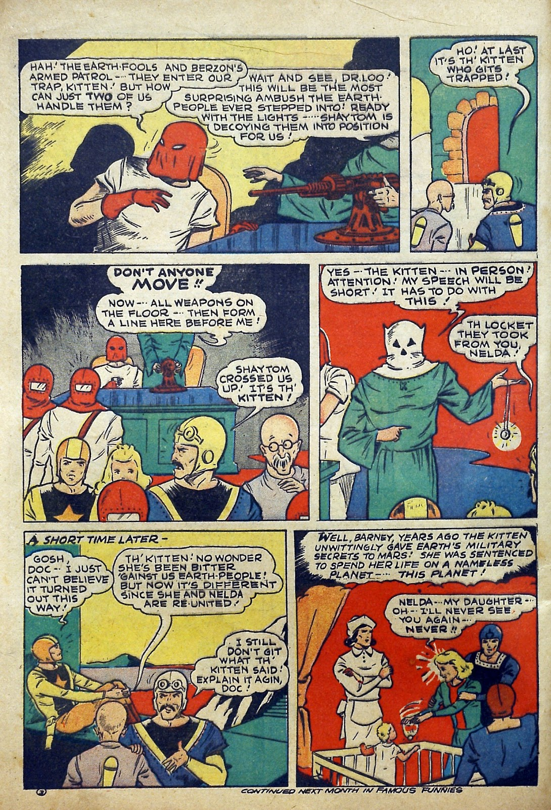 Read online Famous Funnies comic -  Issue #97 - 5