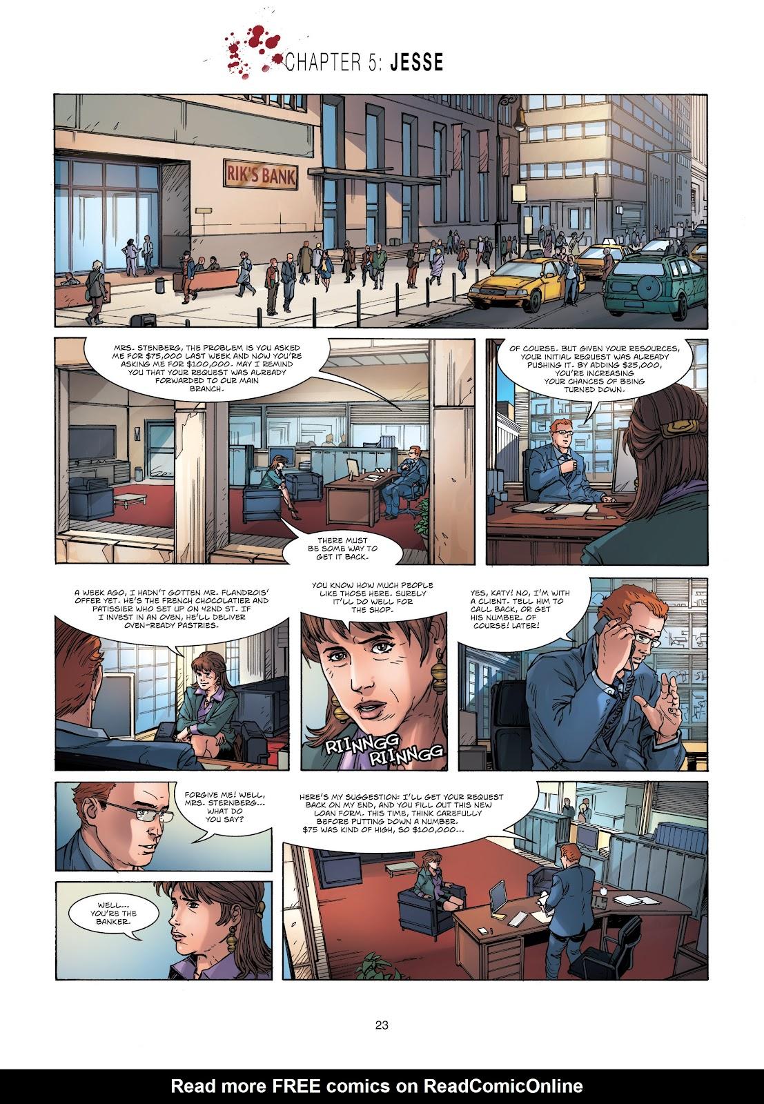 Read online Vigilantes comic -  Issue #1 - 23
