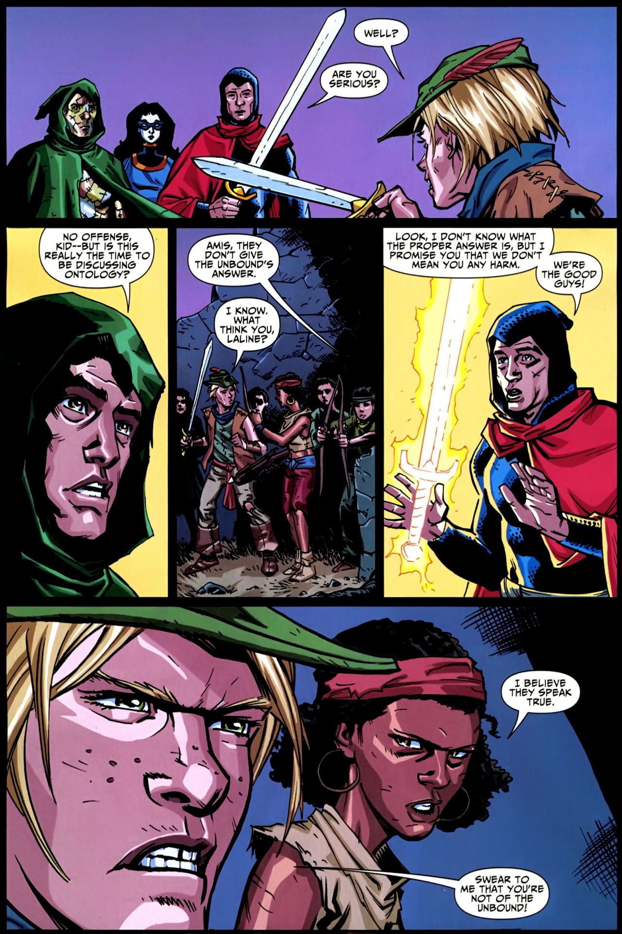 Read online Shadowpact comic -  Issue #20 - 21