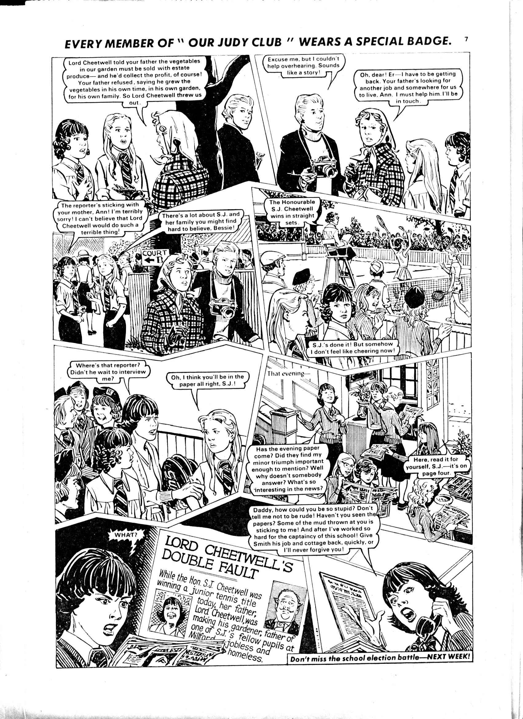 Read online Judy comic -  Issue #1047 - 7
