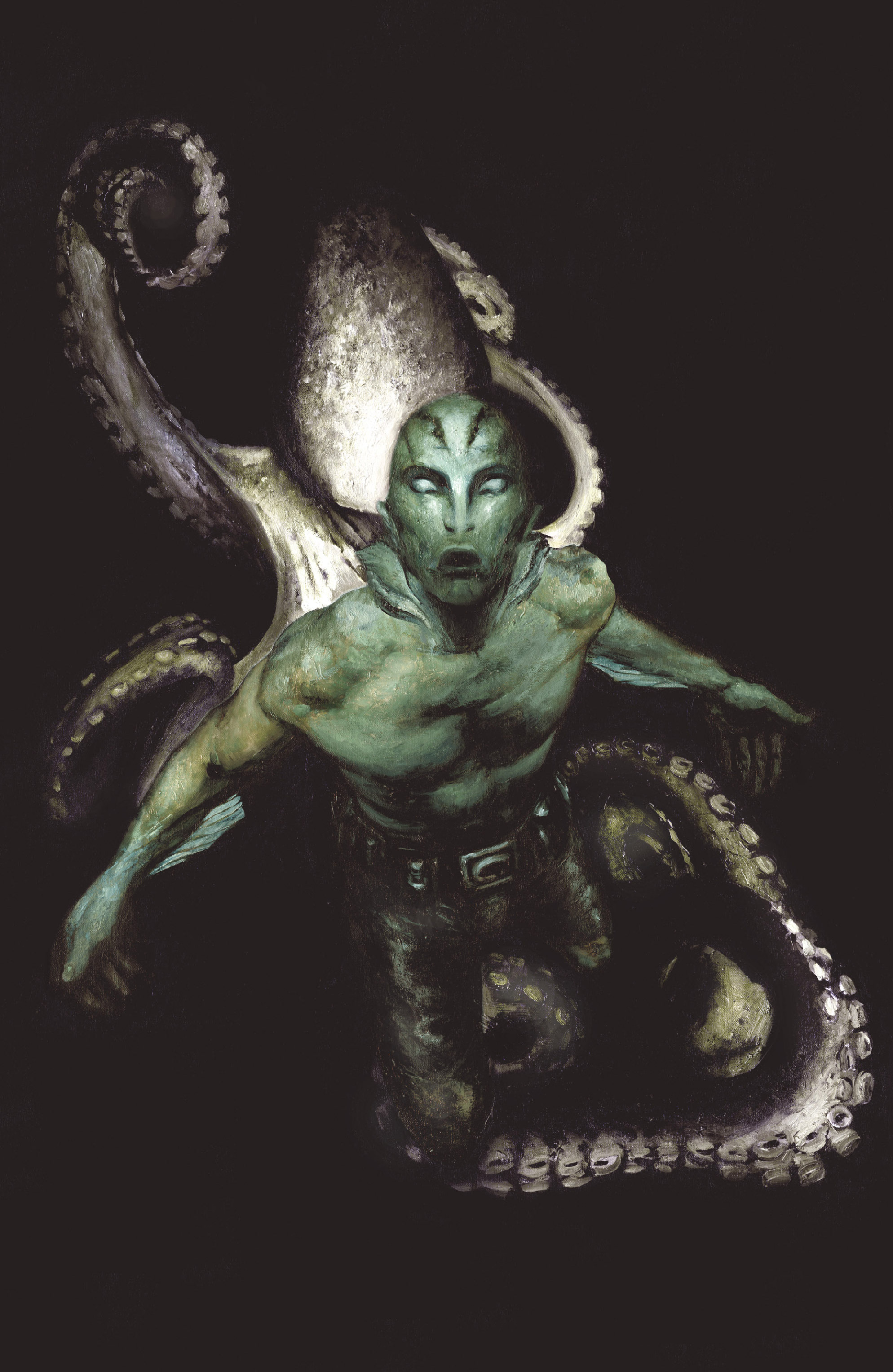 Read online Abe Sapien: The Drowning comic -  Issue #Abe Sapien: The Drowning _TPB - 4