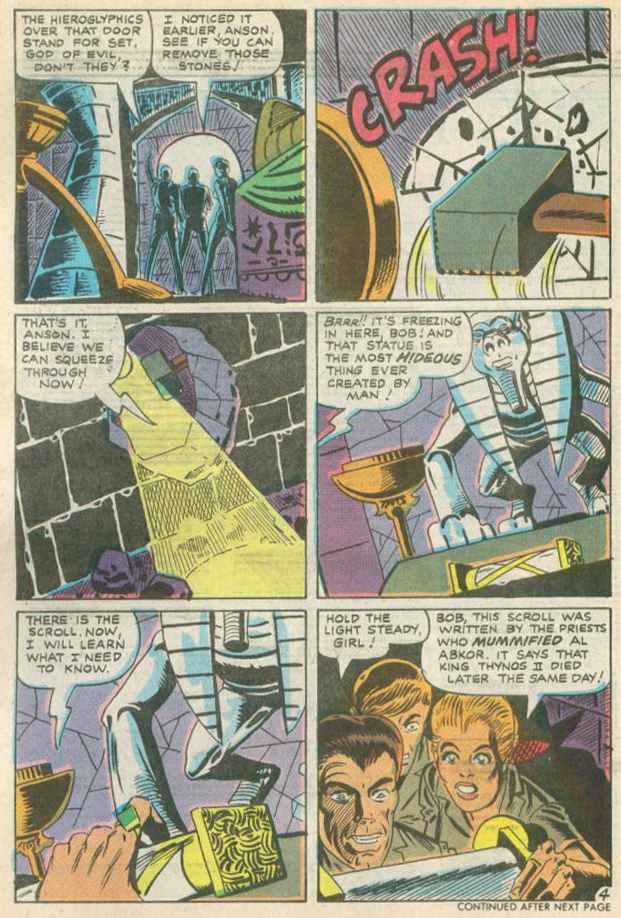 Read online Beyond the Grave (1983) comic -  Issue #10 - 5
