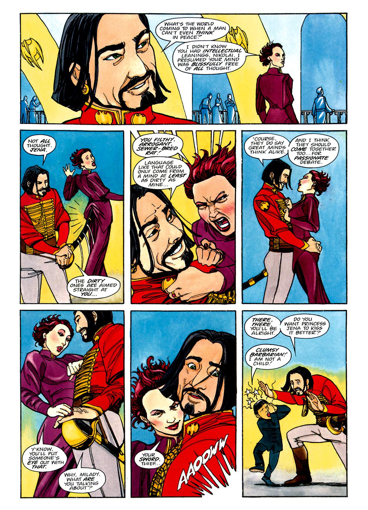 Read online Nikolai Dante comic -  Issue # TPB 1 - 138