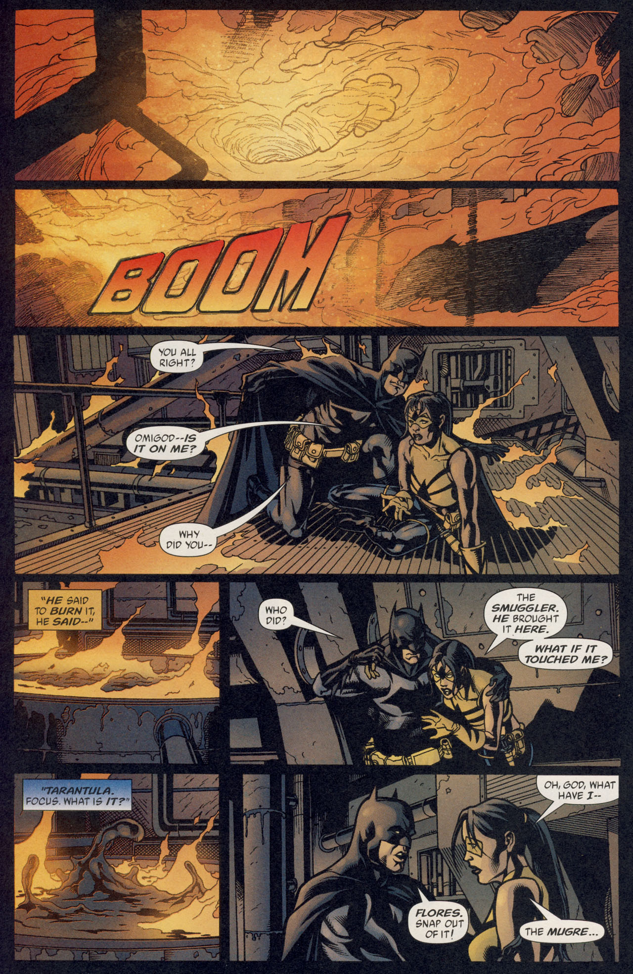 Read online Batman War Drums comic -  Issue # TPB - 125