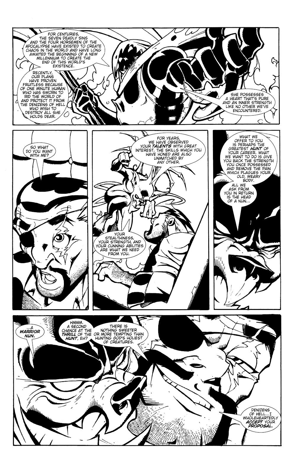 Warrior Nun Areala:  Dangerous Game Issue #1 #1 - English 7