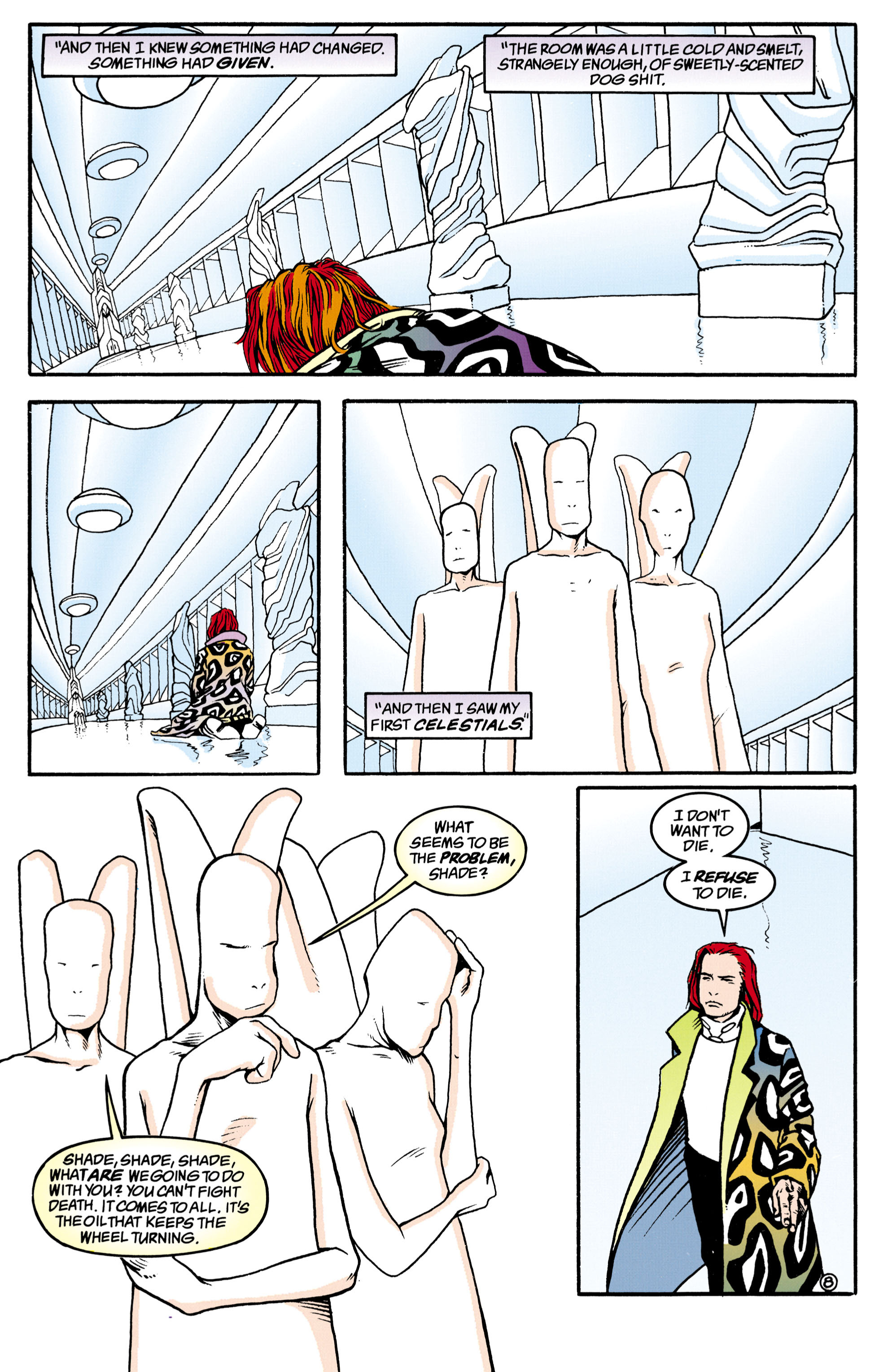 Read online Shade, the Changing Man comic -  Issue #34 - 8