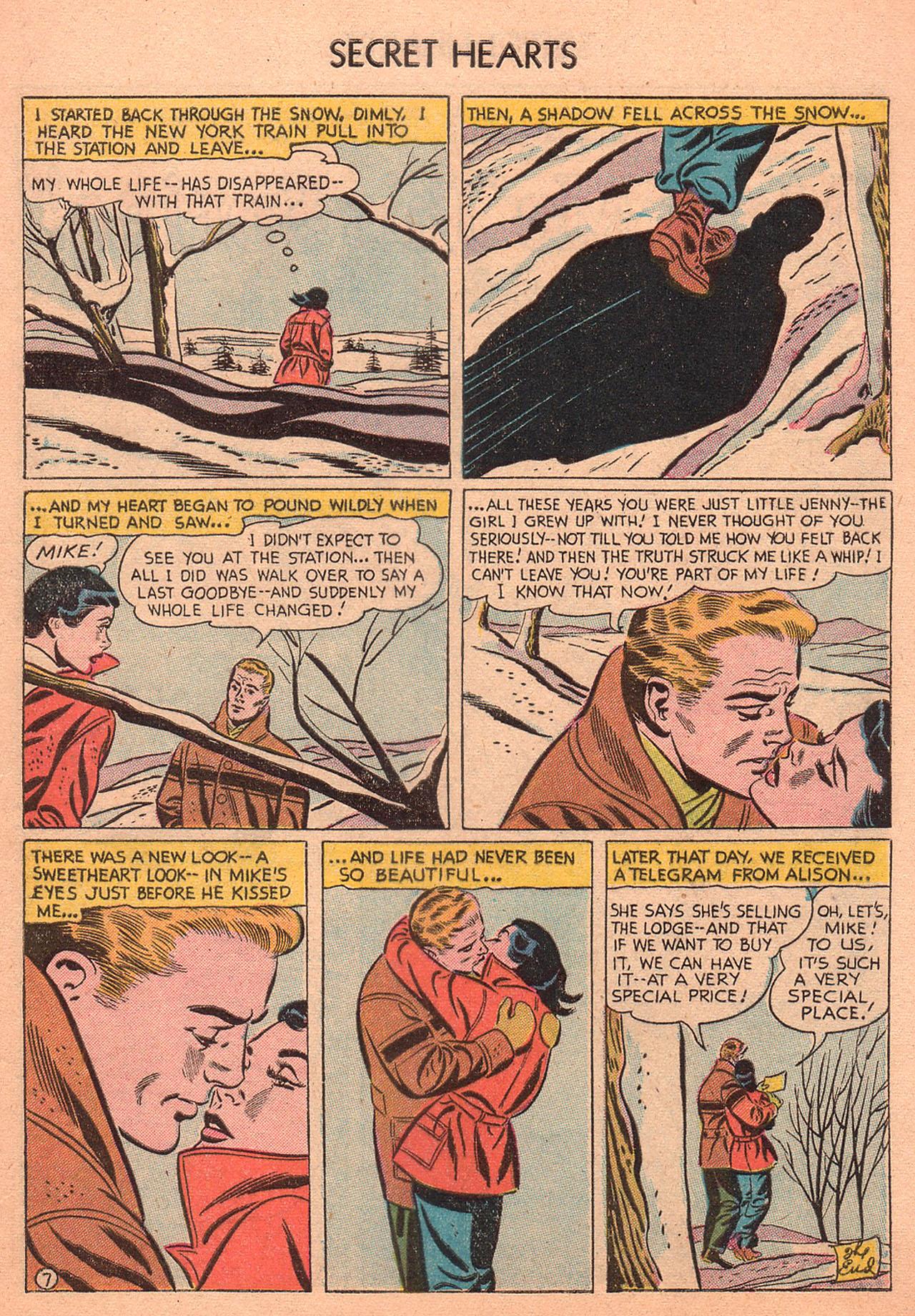 Read online Secret Hearts comic -  Issue #27 - 9