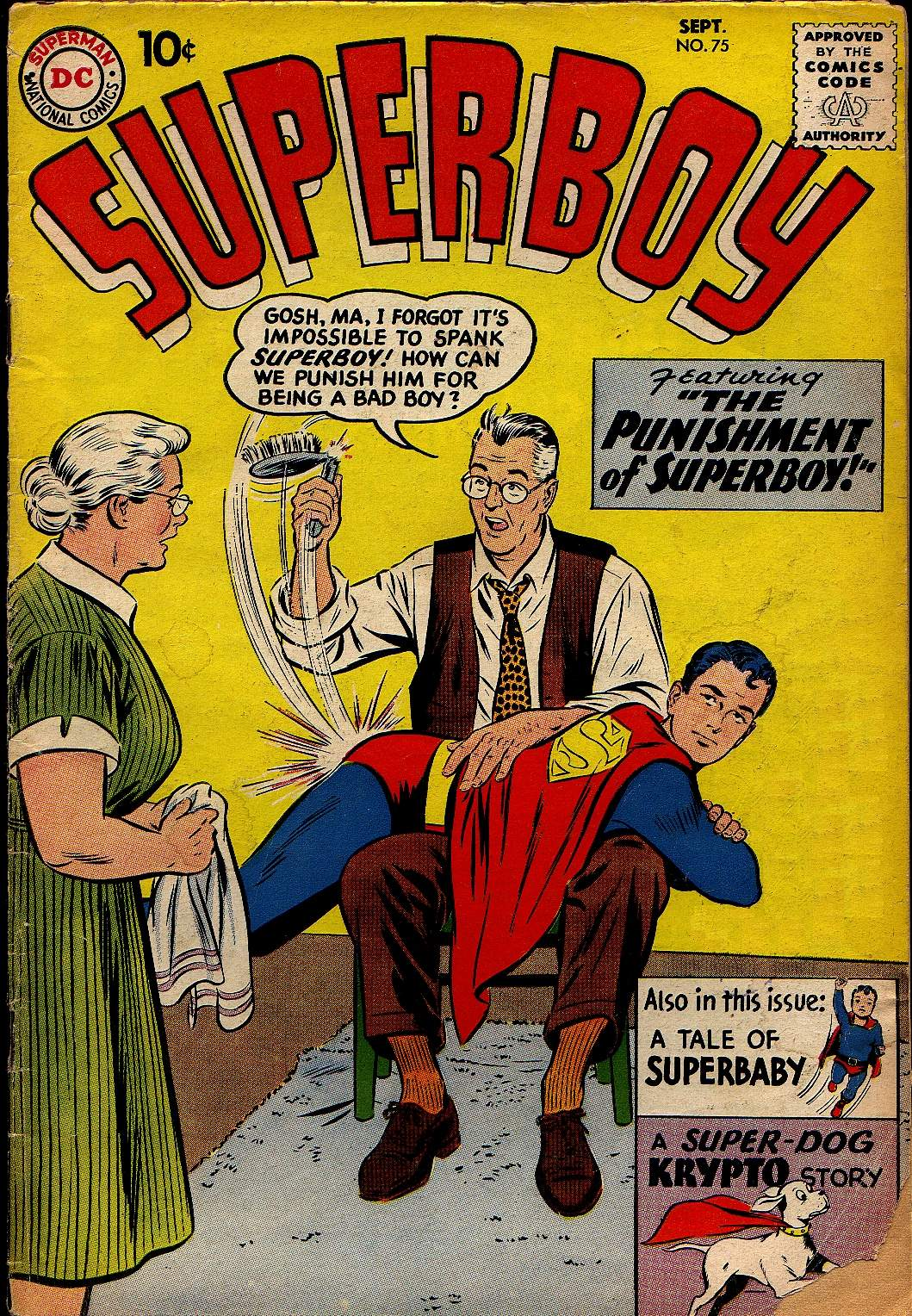 Superboy (1949) issue 75 - Page 1