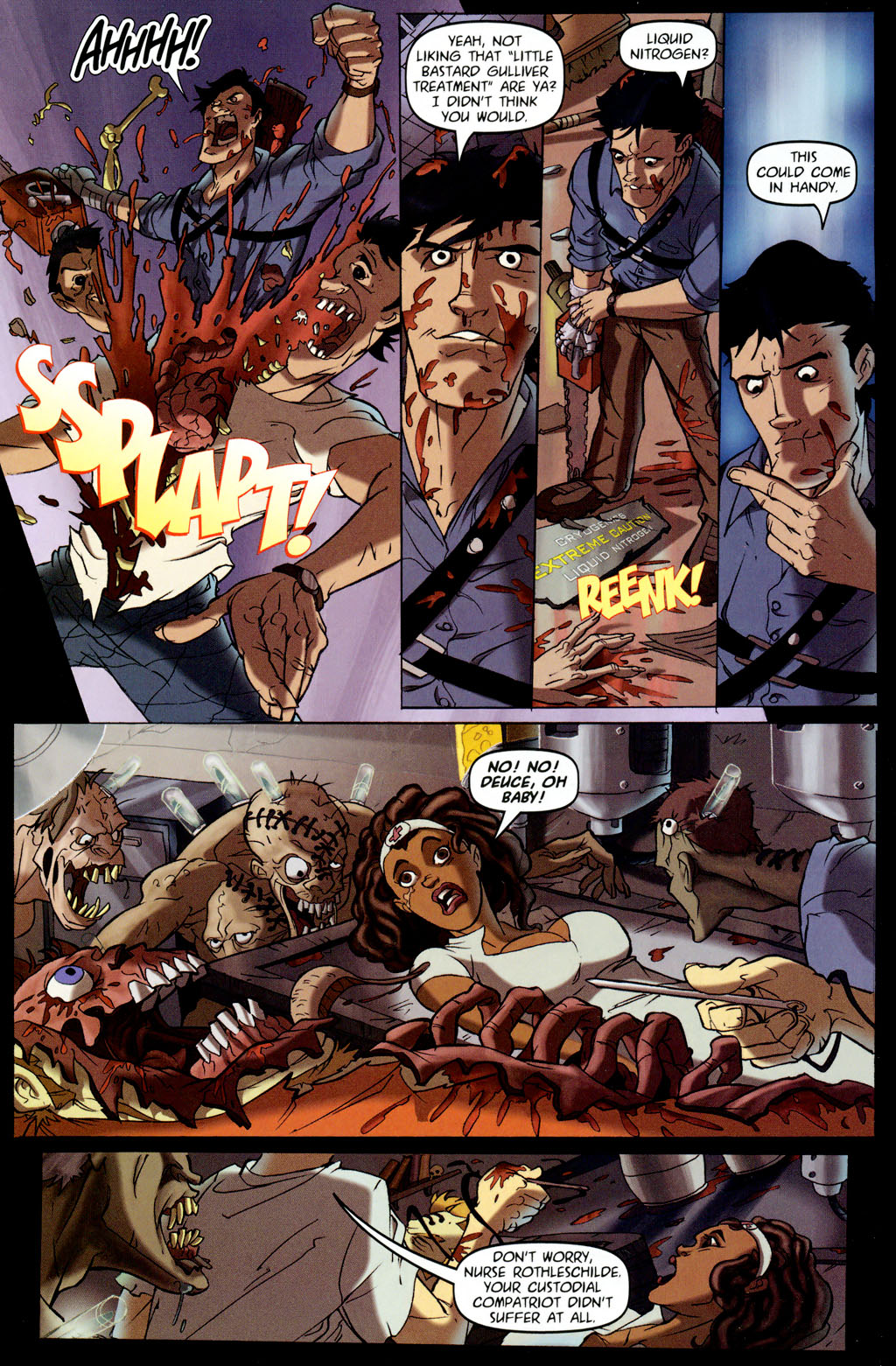 Read online Army of Darkness vs. Re-Animator comic -  Issue #4 - 9
