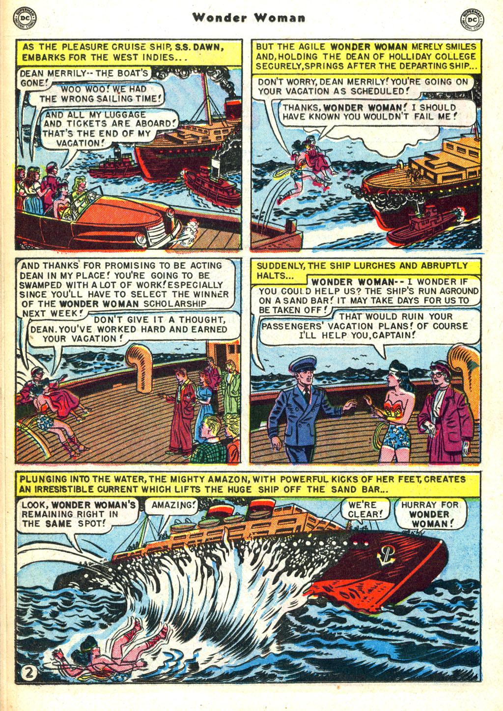 Read online Wonder Woman (1942) comic -  Issue #45 - 26