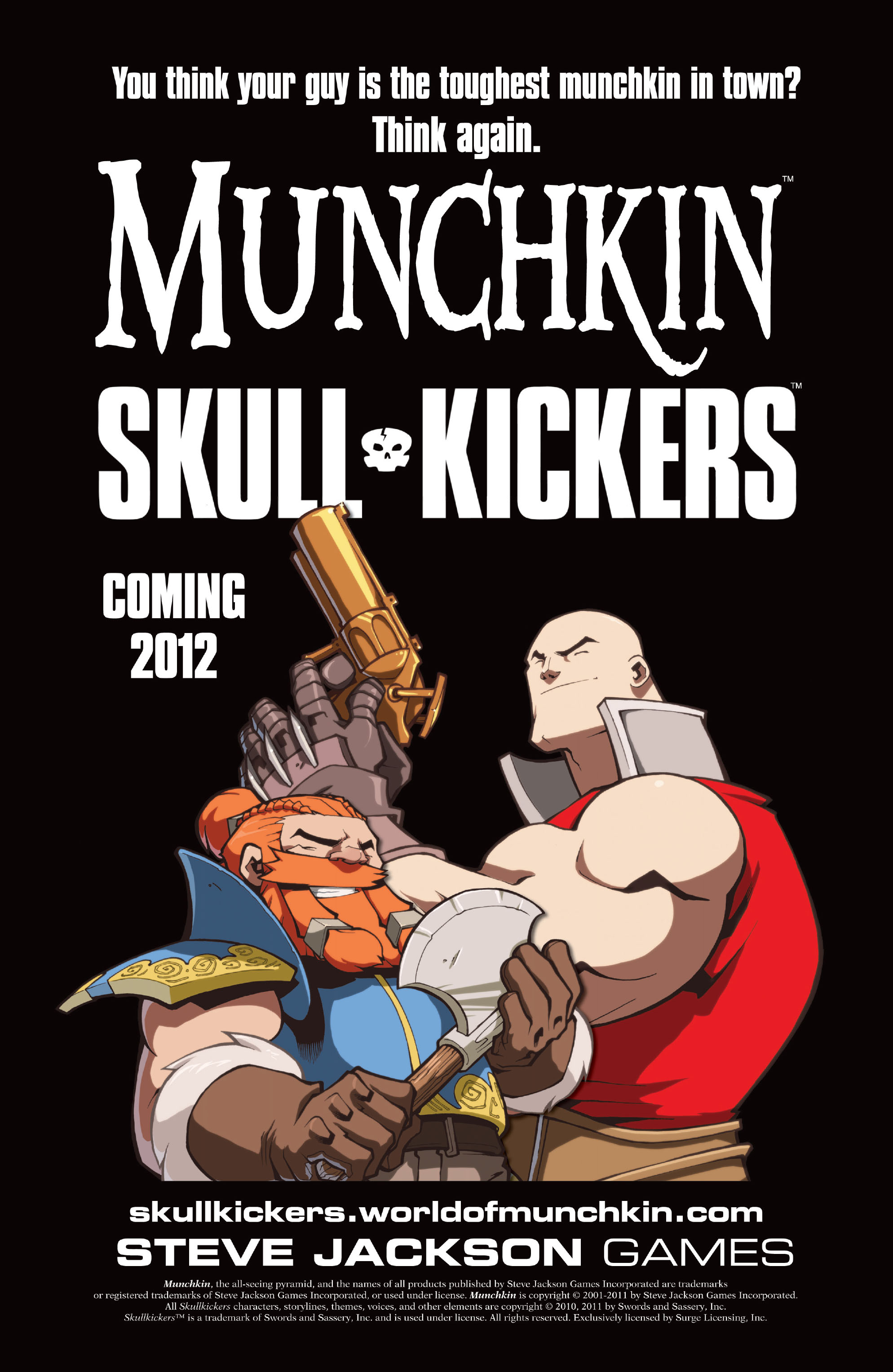 Read online Skullkickers comic -  Issue #12 - 30