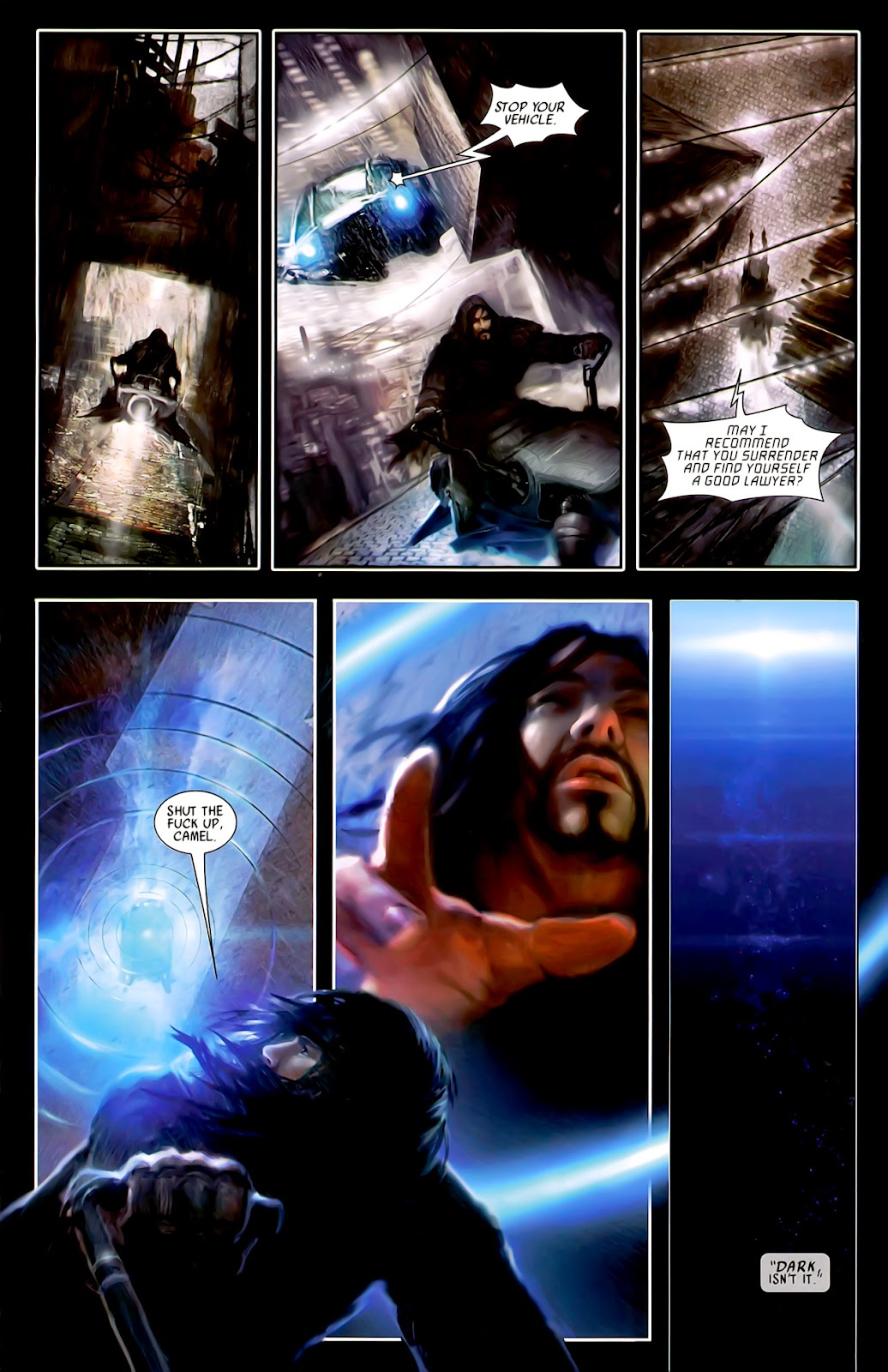 Read online After Dark comic -  Issue #0 - 13
